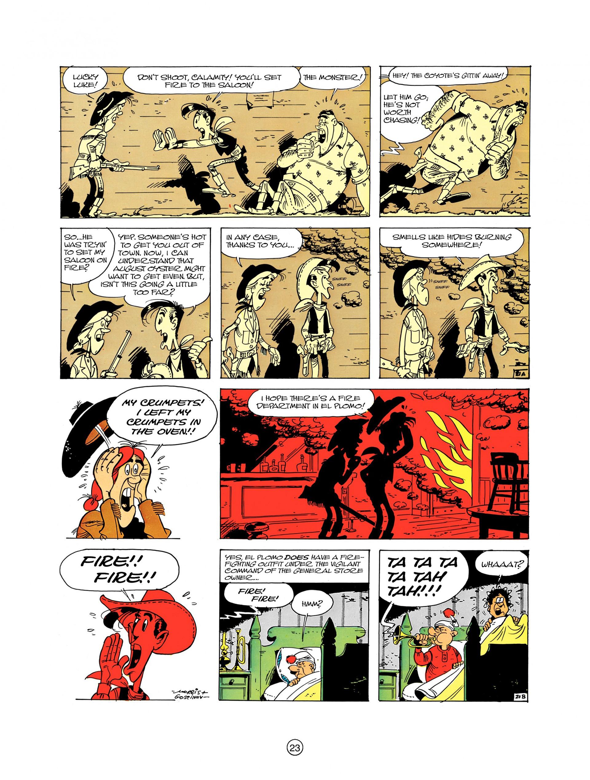 Read online A Lucky Luke Adventure comic -  Issue #8 - 23
