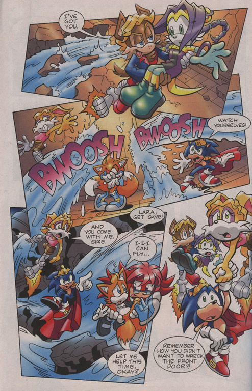 Read online Sonic Universe comic -  Issue #7 - 22