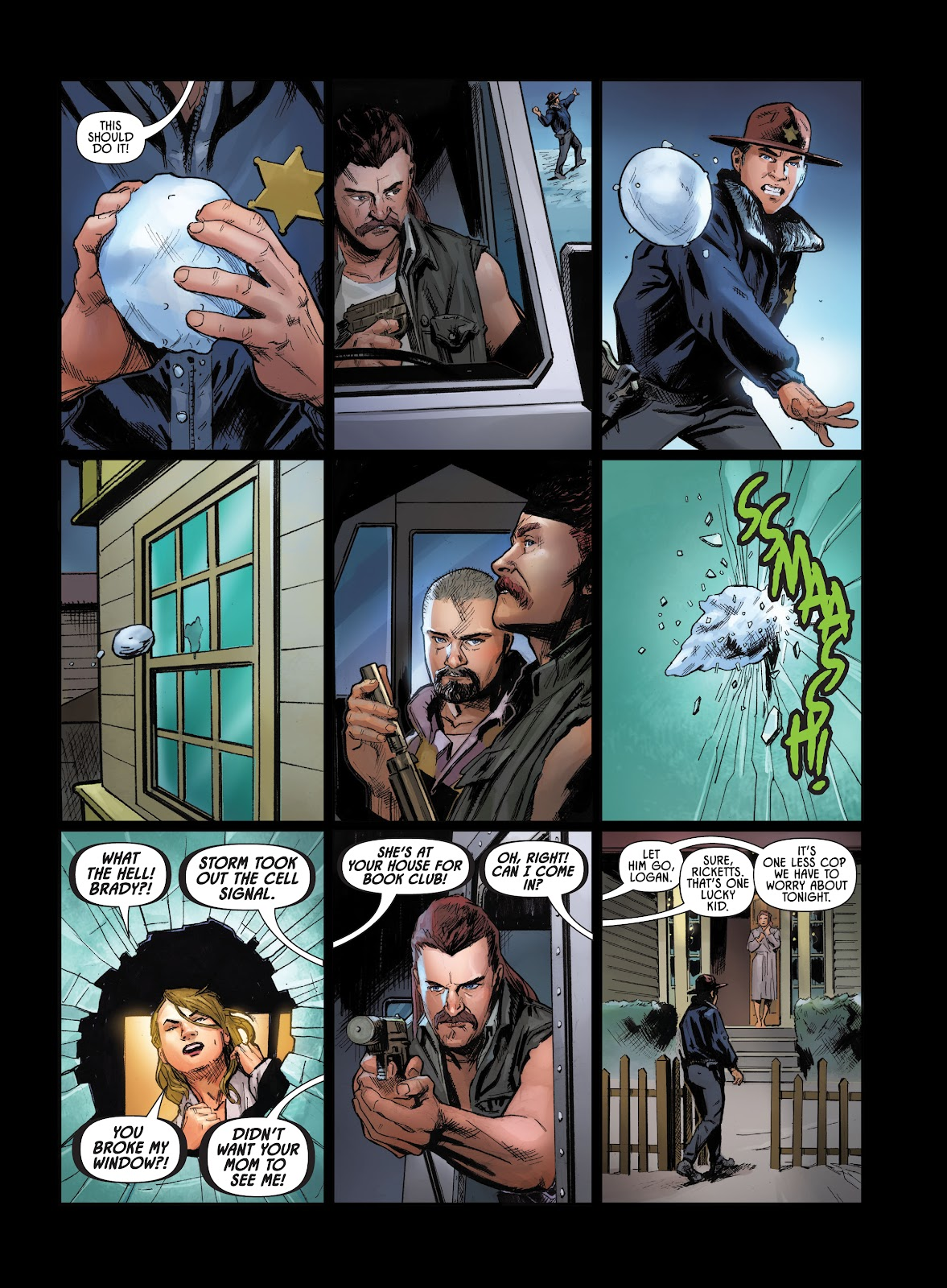 Savage Circus issue 1 - Page 21