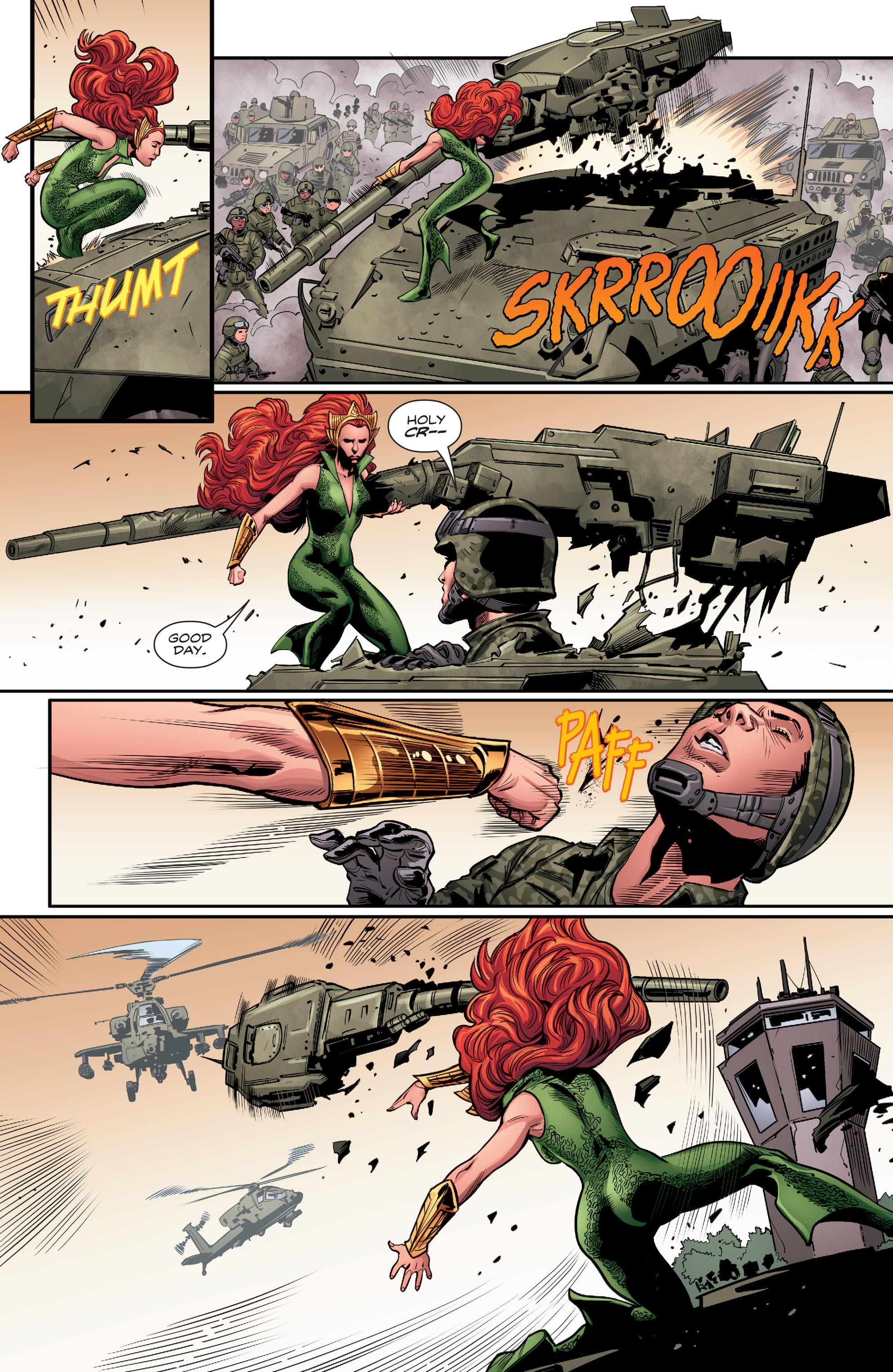 Read online Aquaman (2016) comic -  Issue #5 - 6