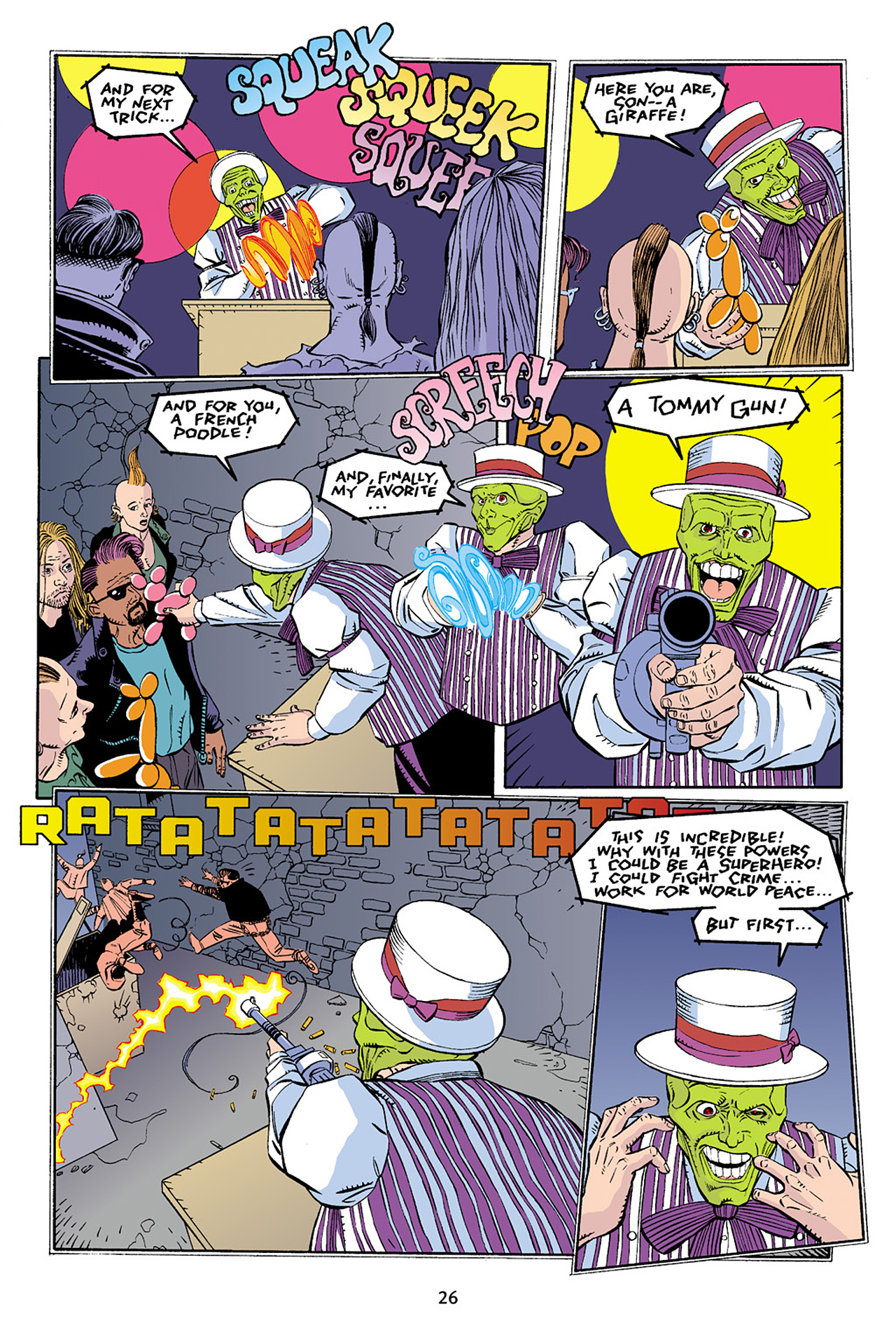 Read online Adventures Of The Mask Omnibus comic -  Issue #Adventures Of The Mask Omnibus Full - 26