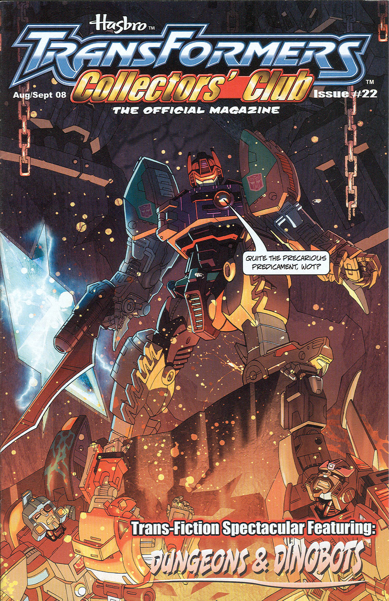 Read online Transformers: Collectors' Club comic -  Issue #22 - 1