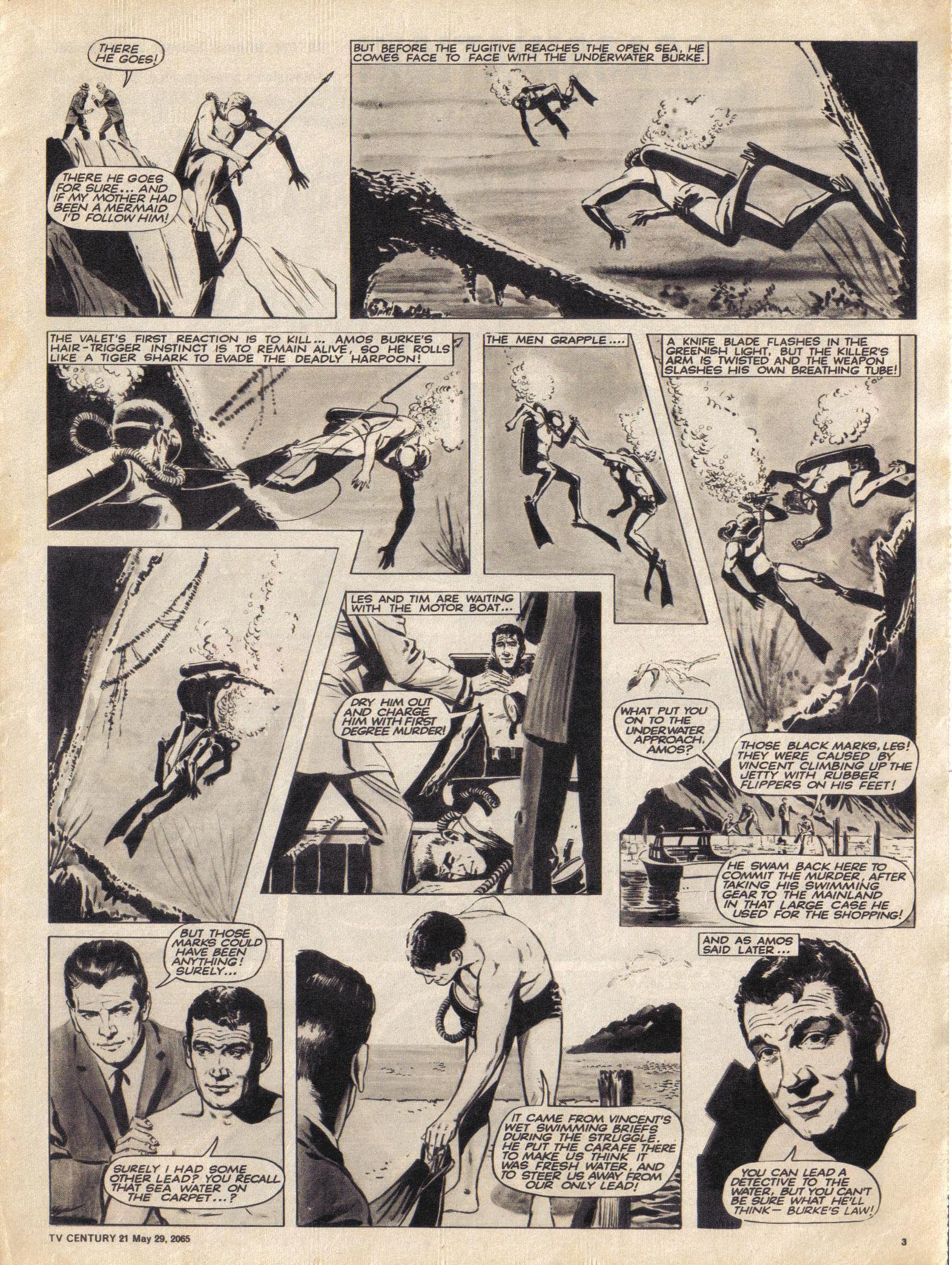 Read online TV Century 21 (TV 21) comic -  Issue #19 - 3