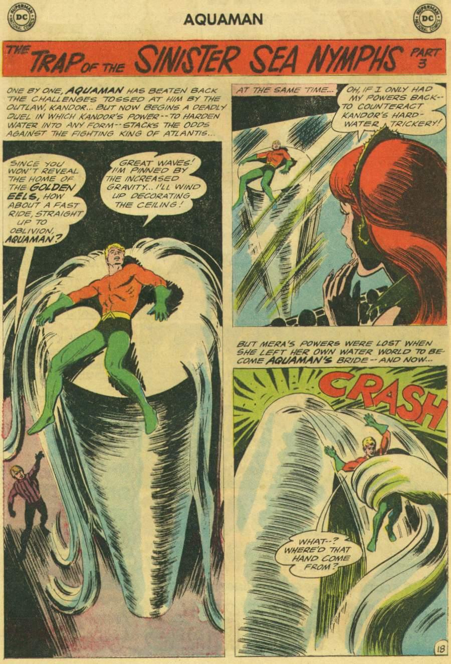 Read online Aquaman (1962) comic -  Issue #22 - 24