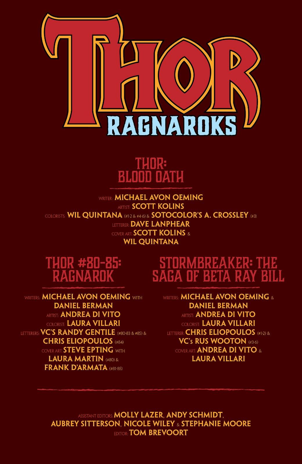Read online Thor: Ragnaroks comic -  Issue # TPB (Part 1) - 4