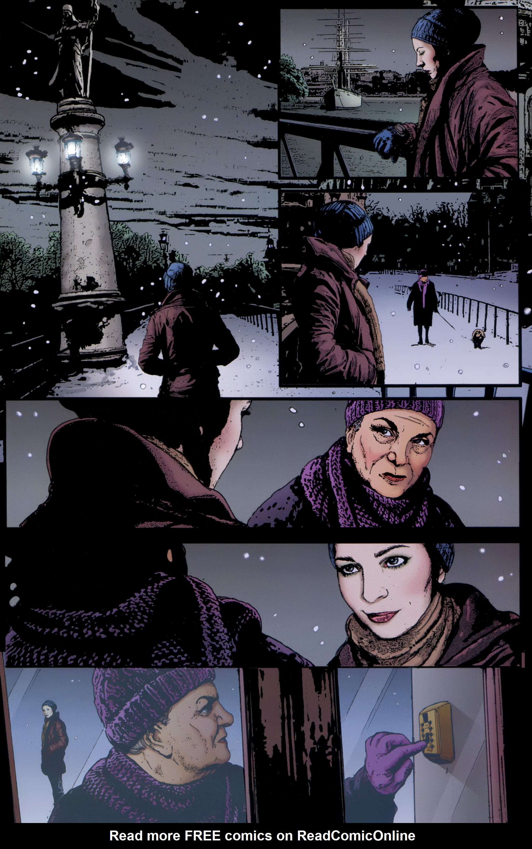 Read online The Girl With the Dragon Tattoo comic -  Issue # TPB 1 - 44