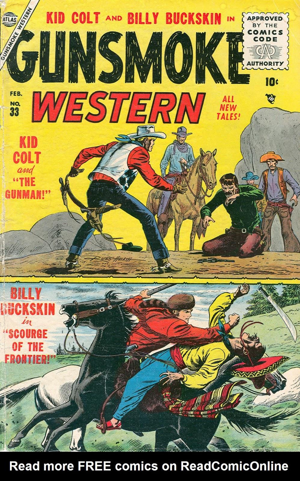 Gunsmoke Western issue 33 - Page 2