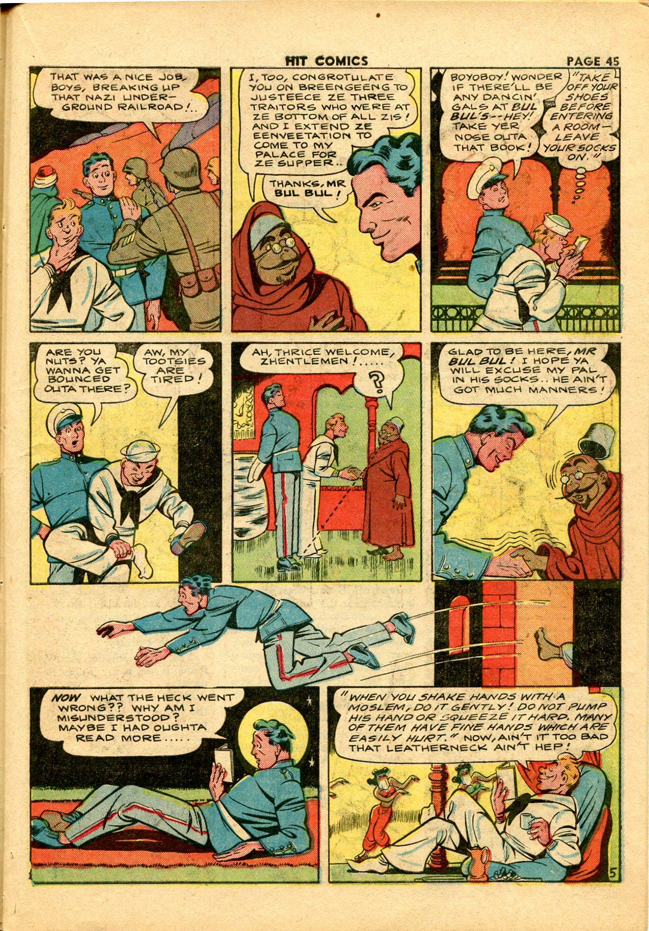Read online Hit Comics comic -  Issue #28 - 48