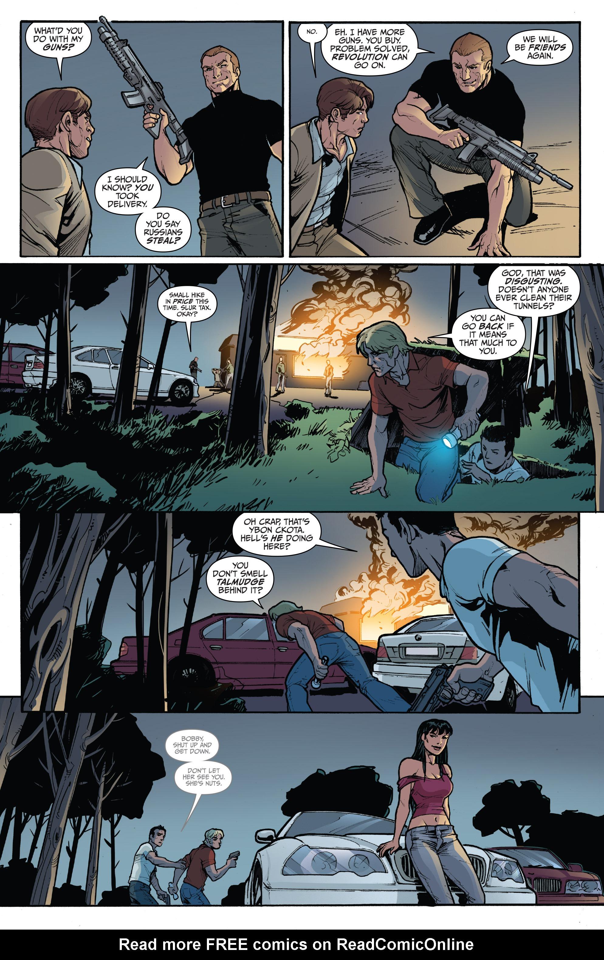 Read online 3 Guns comic -  Issue #3 - 16