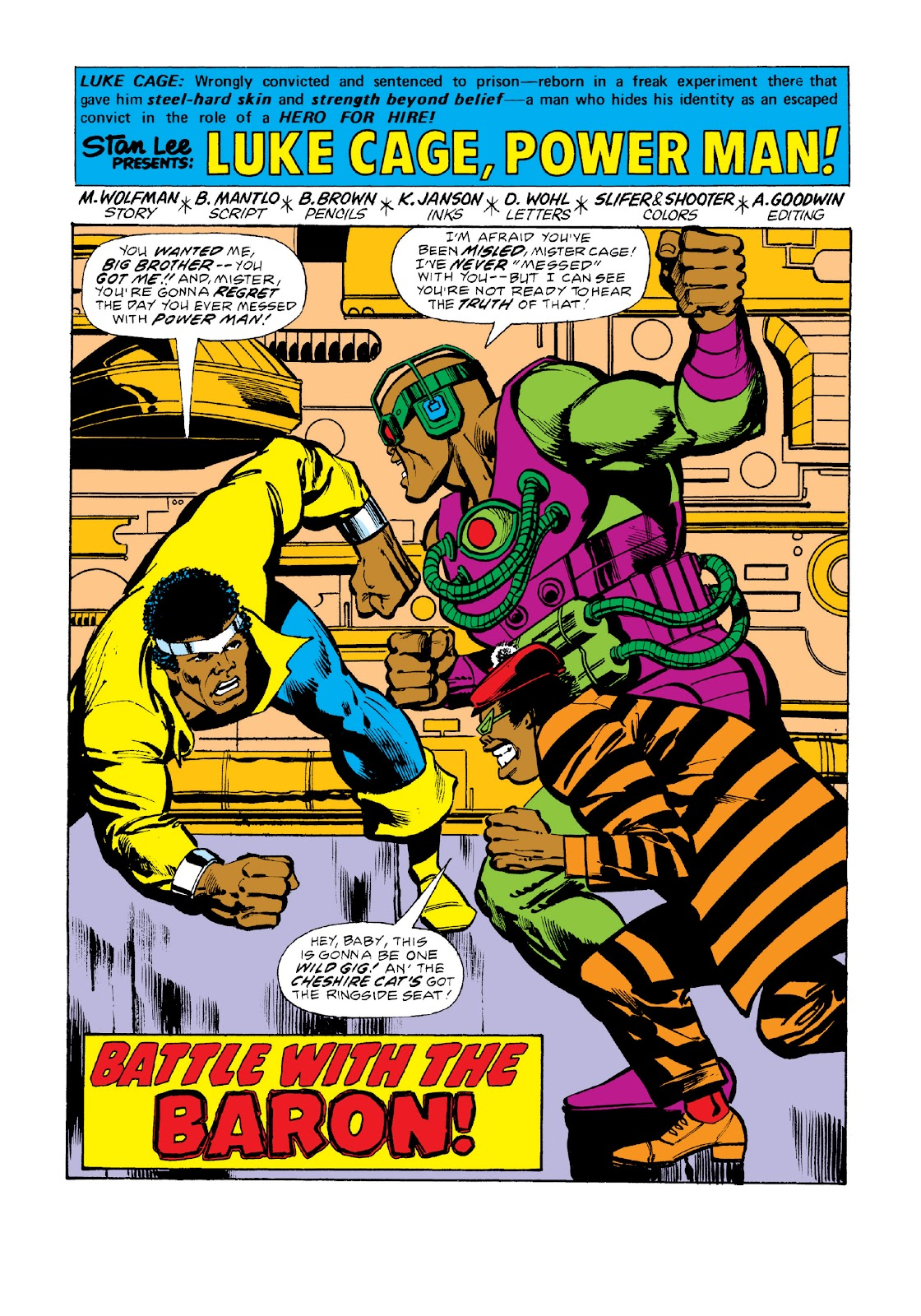 Read online Marvel Masterworks: Luke Cage, Power Man comic -  Issue # TPB 3 (Part 2) - 56