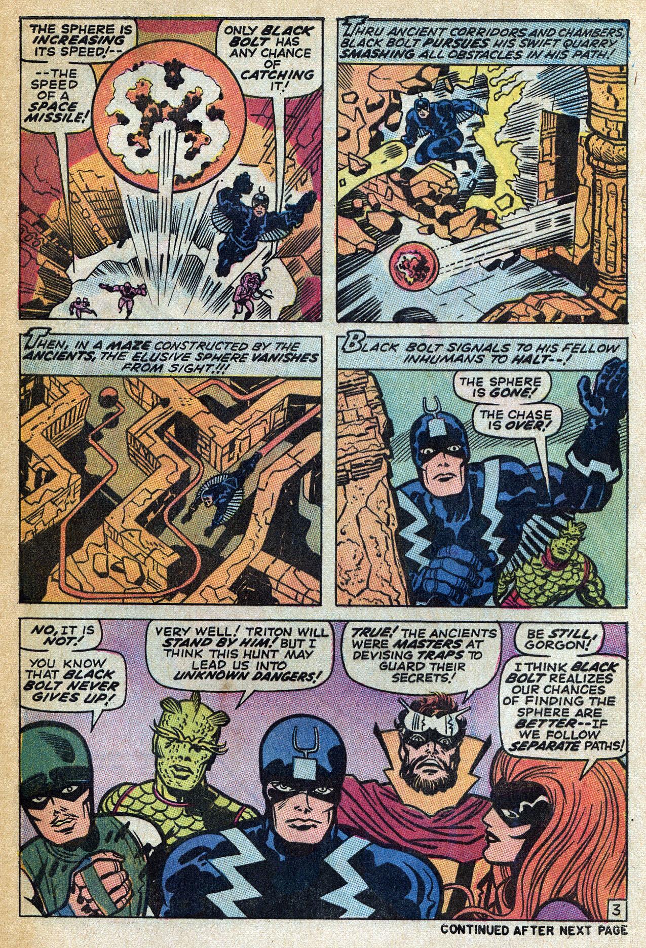 Read online Amazing Adventures (1970) comic -  Issue #4 - 5