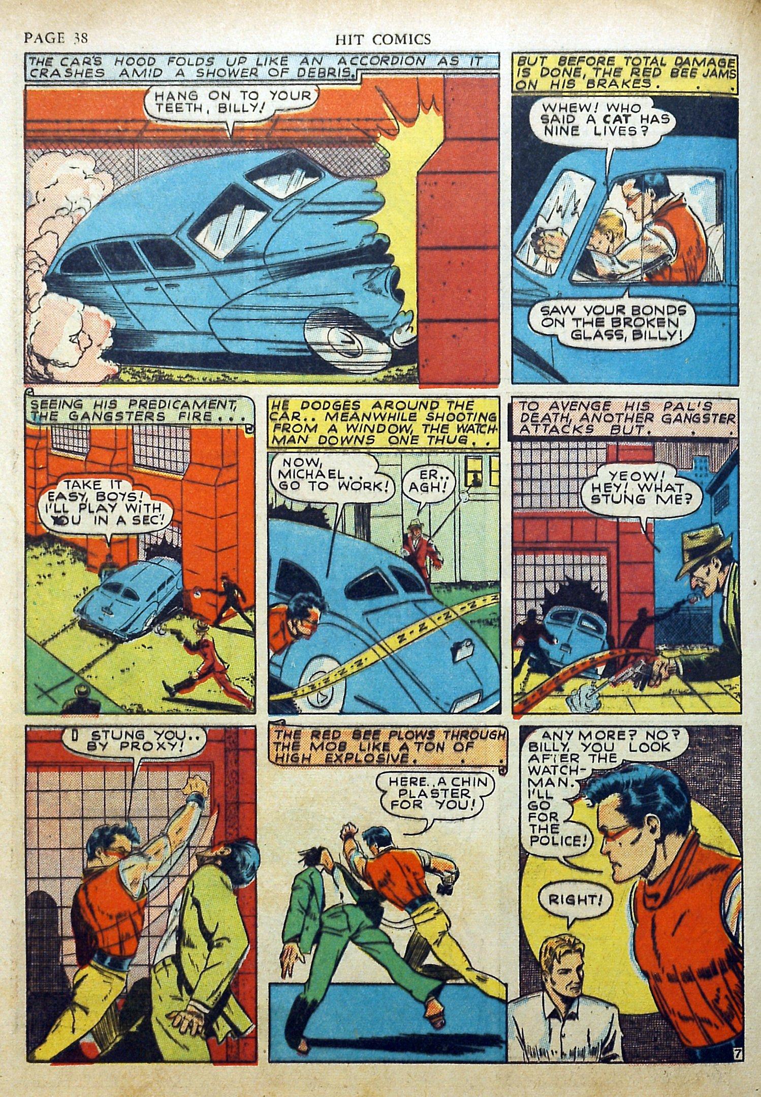 Read online Hit Comics comic -  Issue #17 - 40