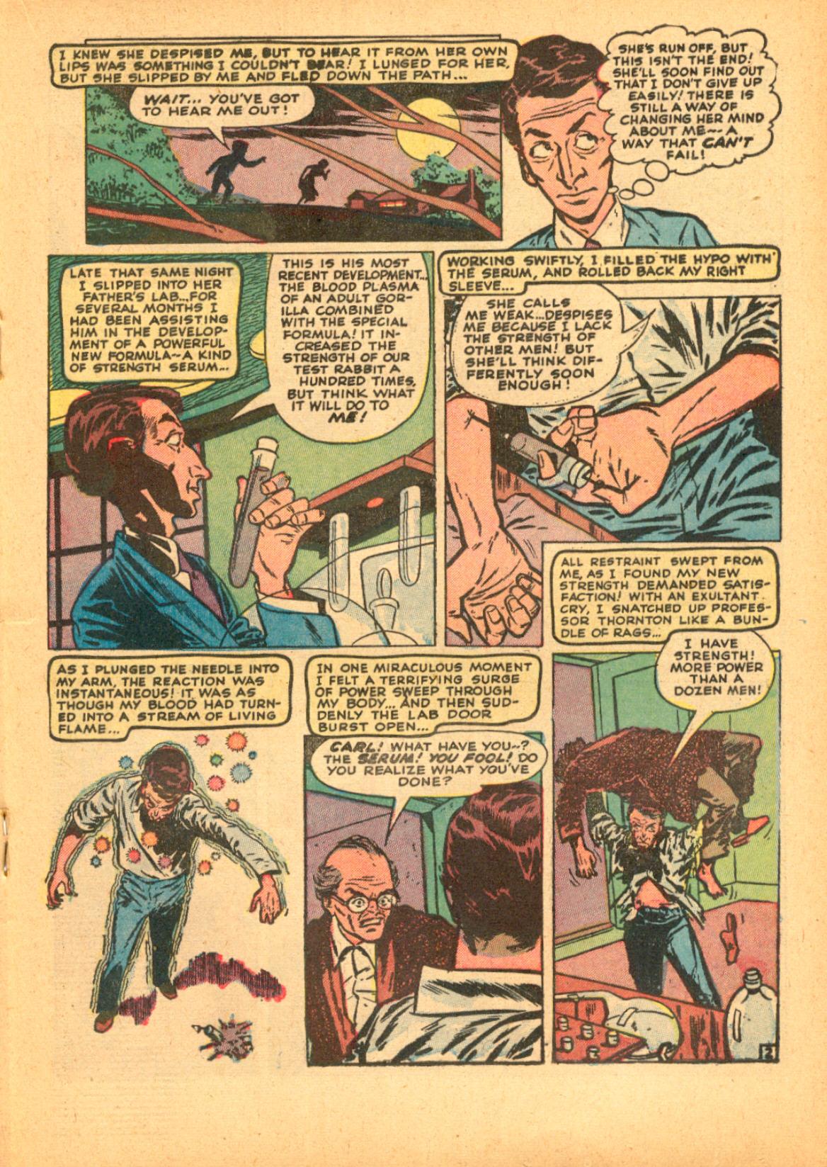 Read online Adventures into Weird Worlds comic -  Issue #3 - 19