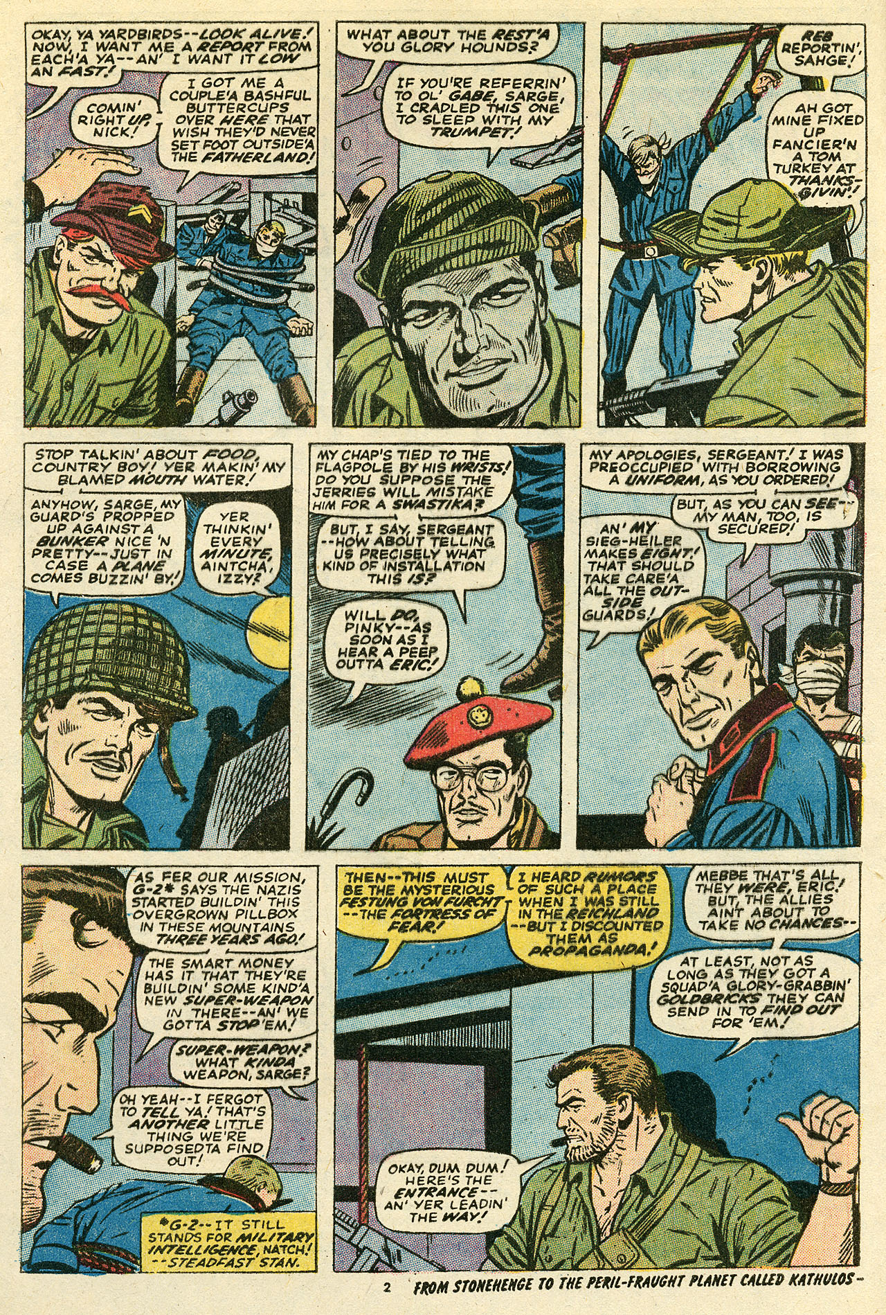Read online Sgt. Fury comic -  Issue #111 - 4