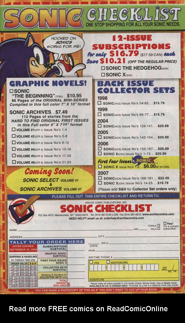 Read online Sonic X comic -  Issue #31 - 29