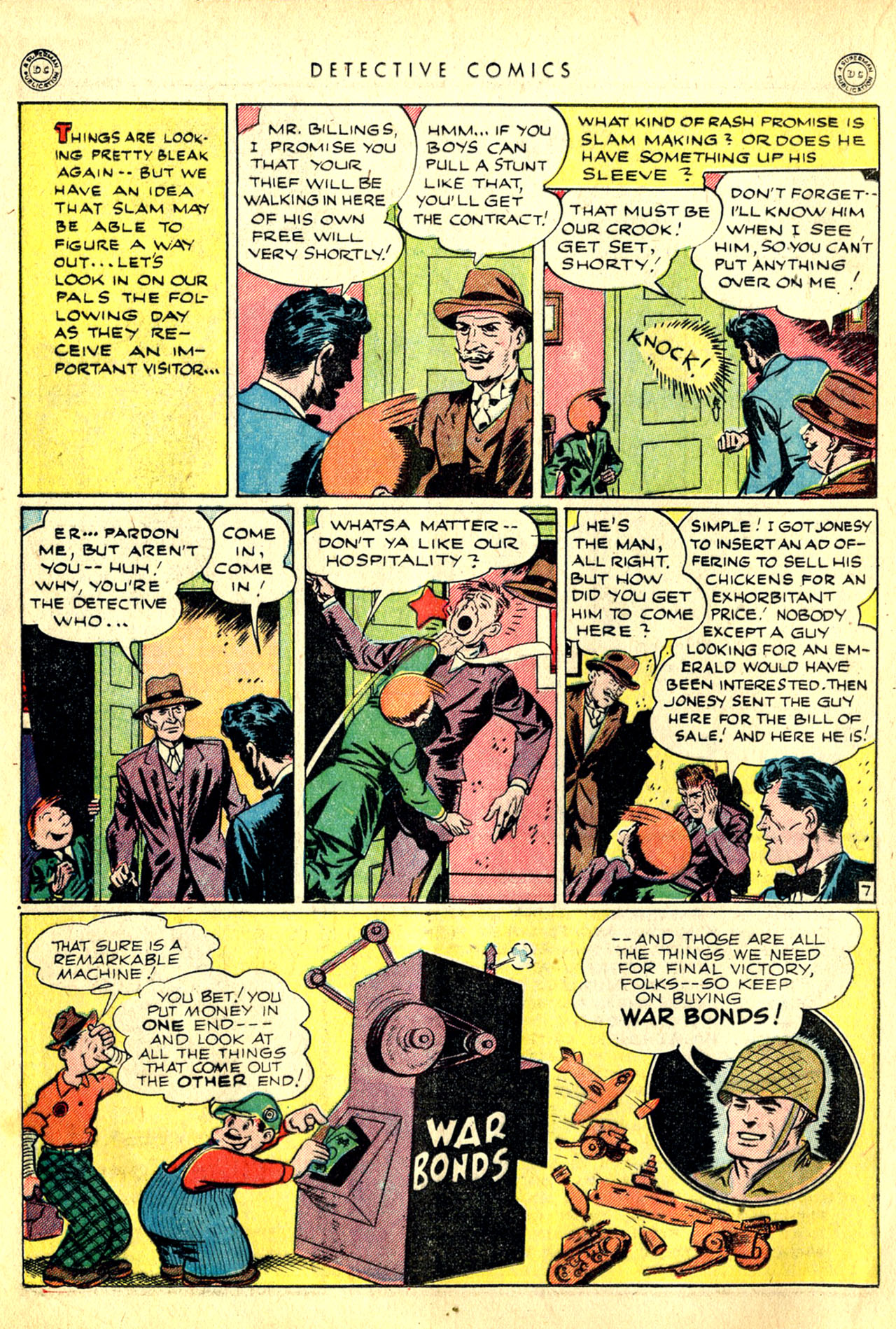 Read online Detective Comics (1937) comic -  Issue #91 - 24