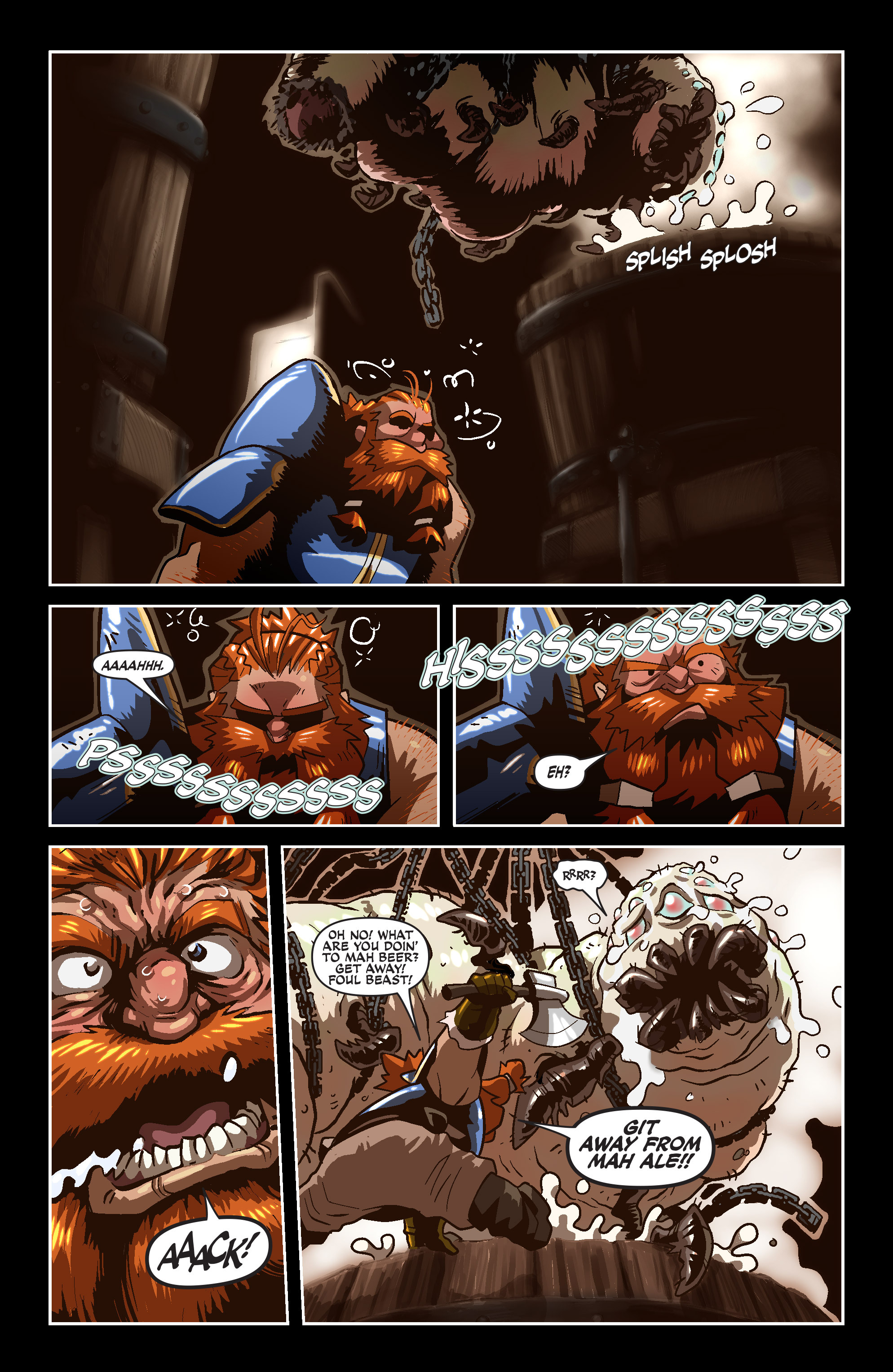 Read online Skullkickers comic -  Issue #18 - 20