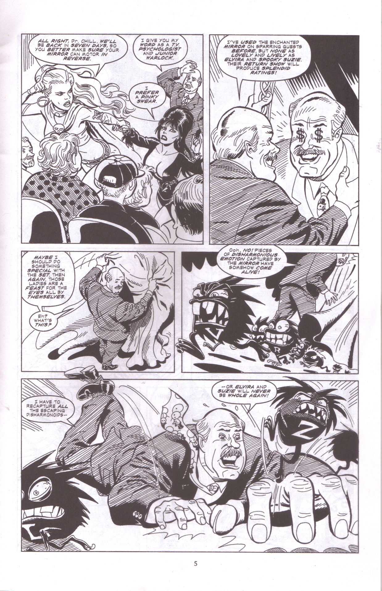 Read online Elvira, Mistress of the Dark comic -  Issue #159 - 7