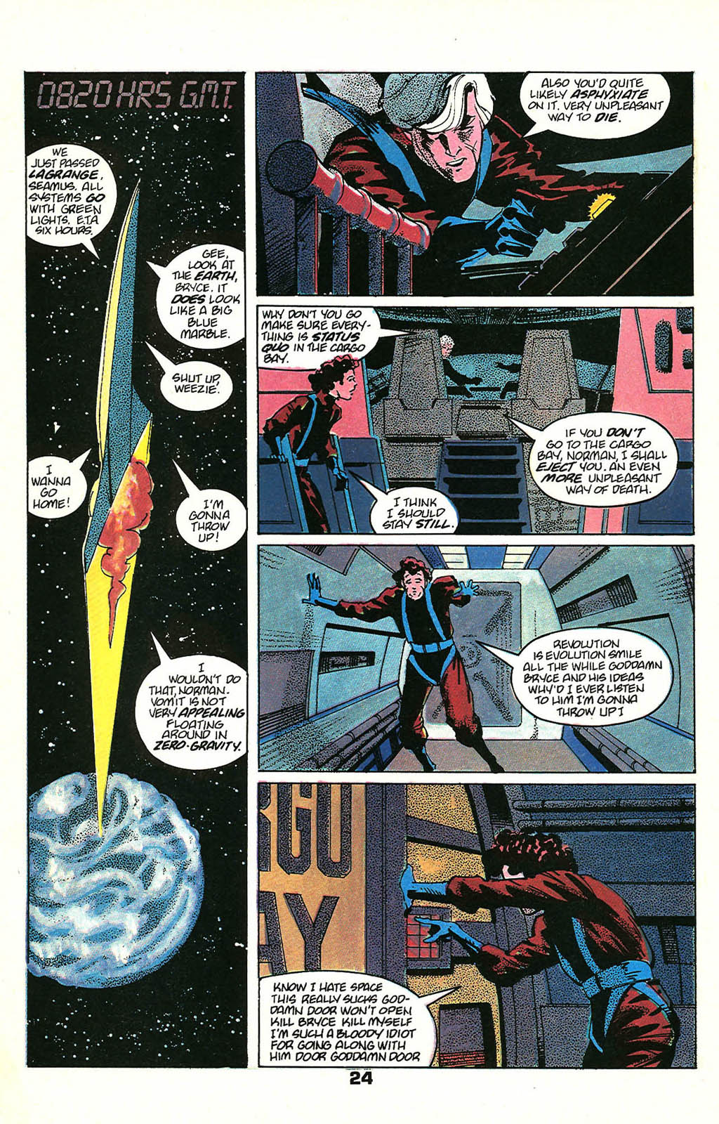 Read online American Flagg! comic -  Issue #48 - 30