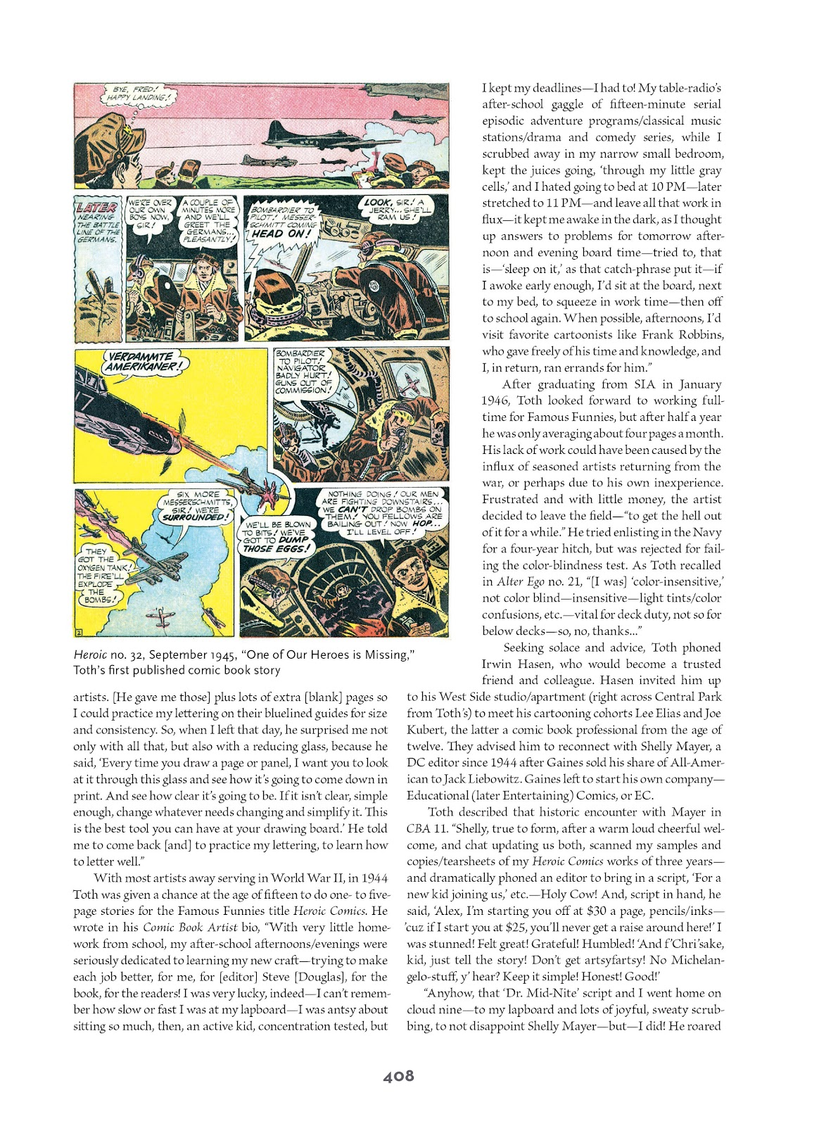 Read online Setting the Standard: Comics by Alex Toth 1952-1954 comic -  Issue # TPB (Part 4) - 109