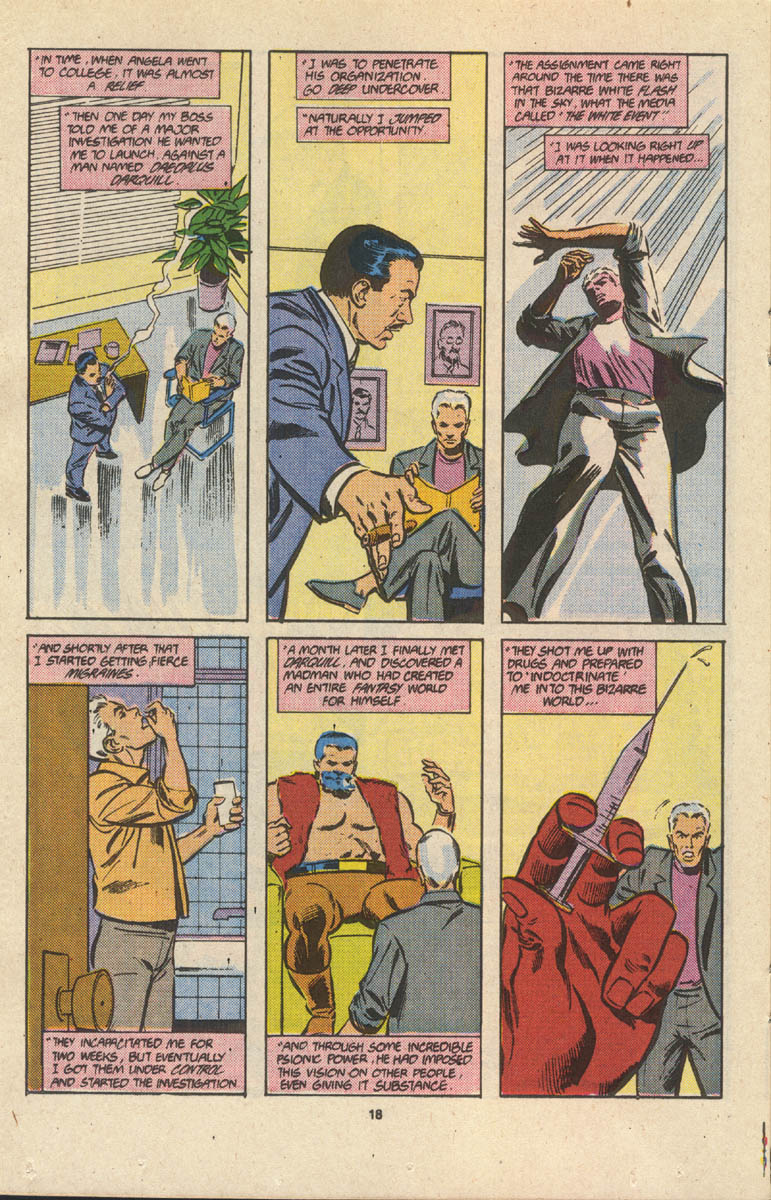 Read online Justice (1986) comic -  Issue #17 - 19
