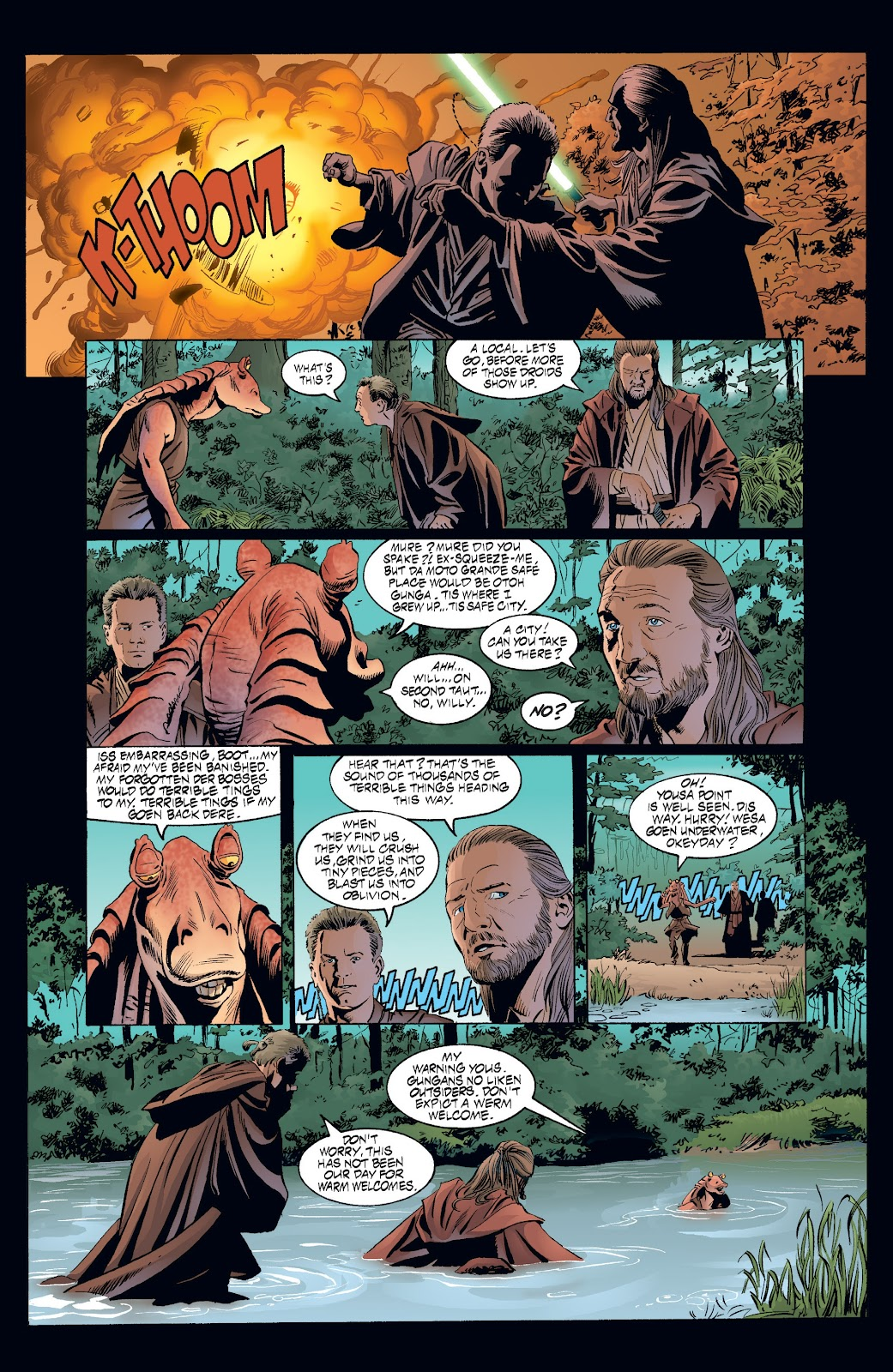 Read online Star Wars Legends: Rise of the Sith - Epic Collection comic -  Issue # TPB 2 (Part 3) - 50