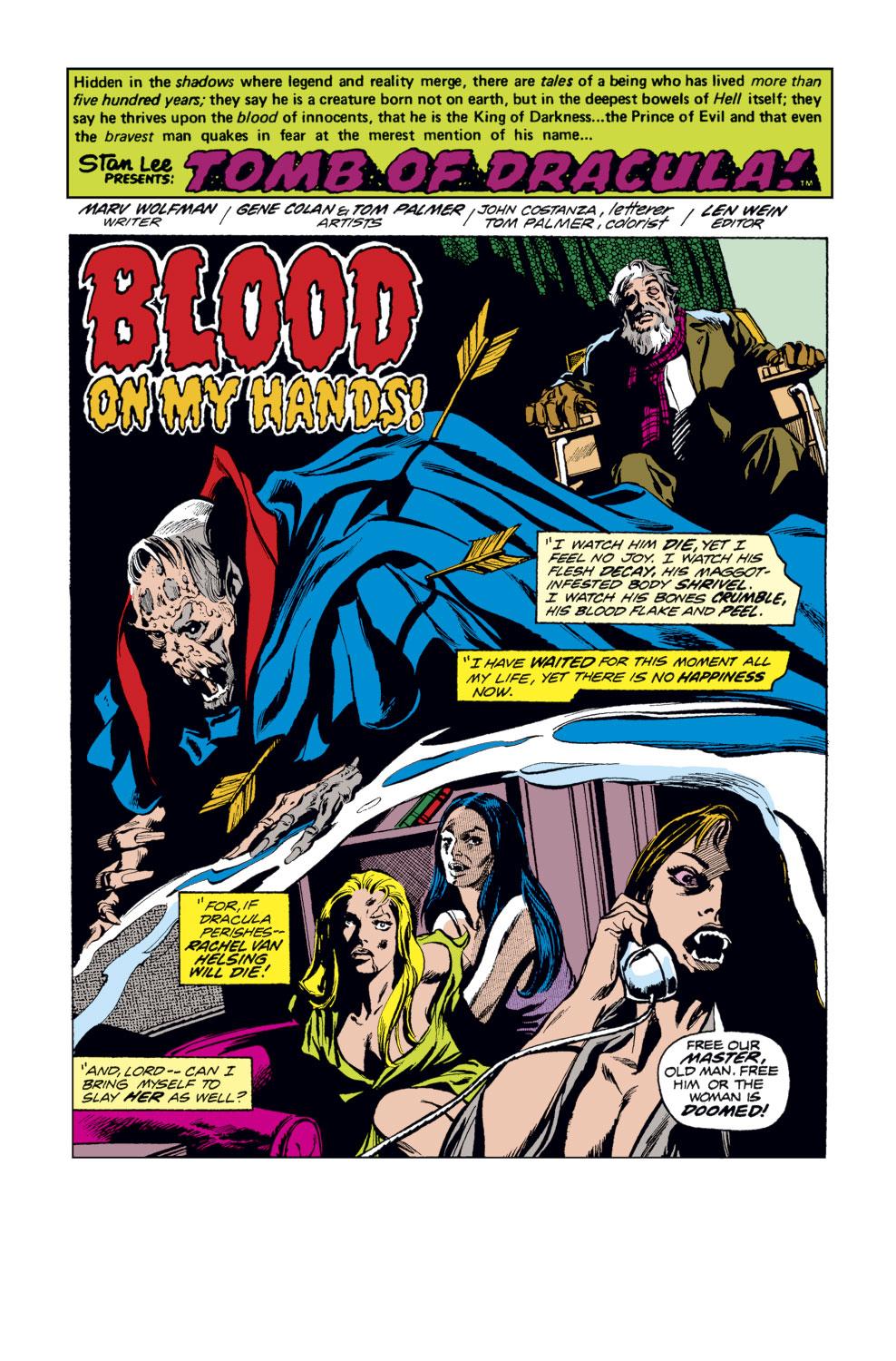 Tomb of Dracula (1972) issue 33 - Page 2
