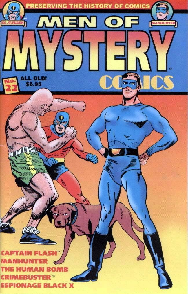 Read online Men of Mystery Comics comic -  Issue #22 - 1