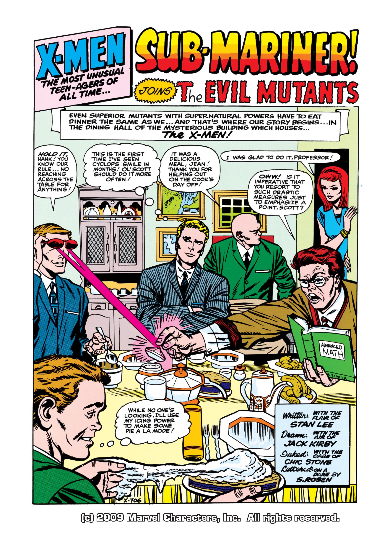 Uncanny X-Men (1963) 6 Page 1