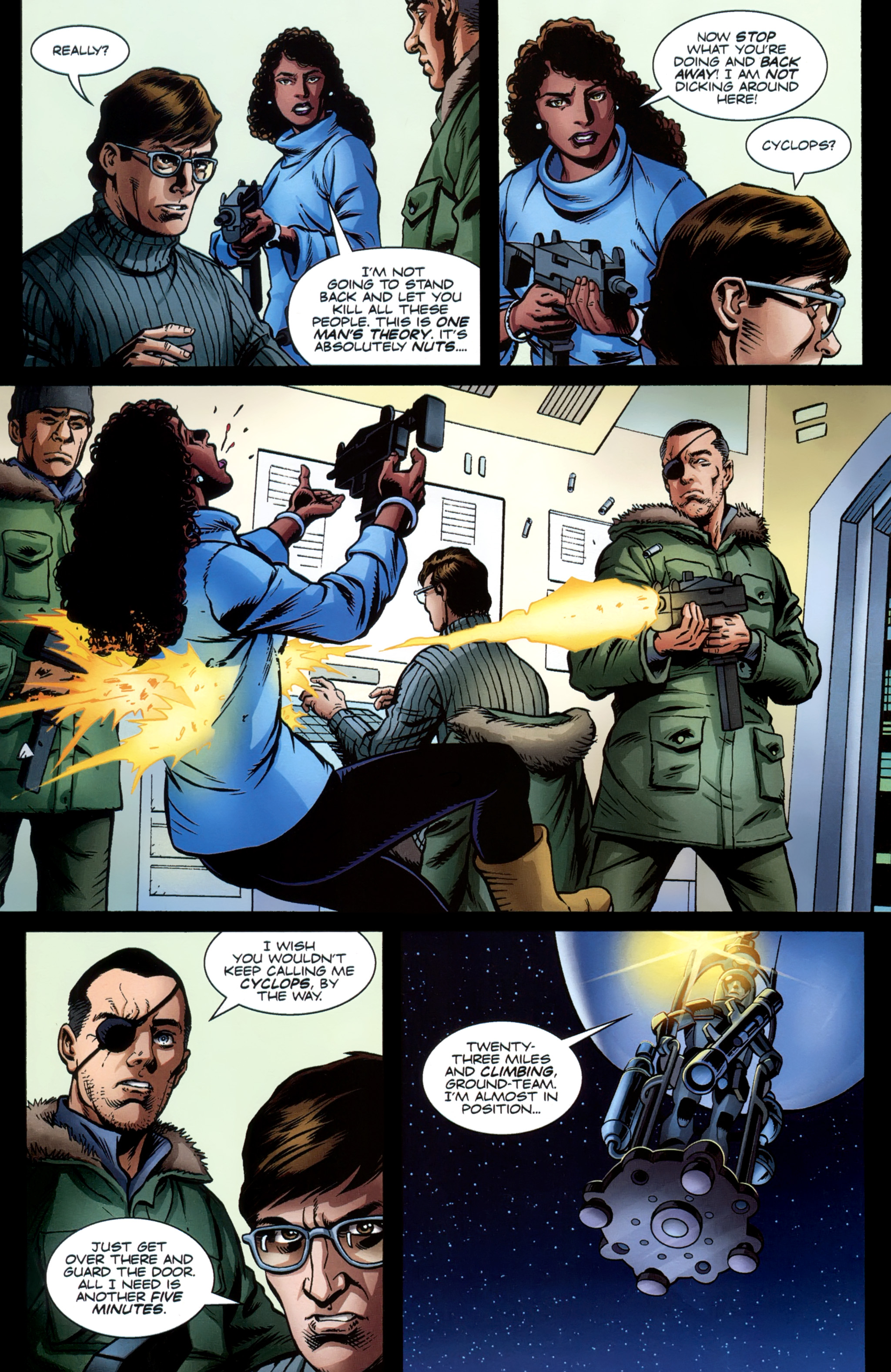 Read online Secret Service comic -  Issue #6 - 19