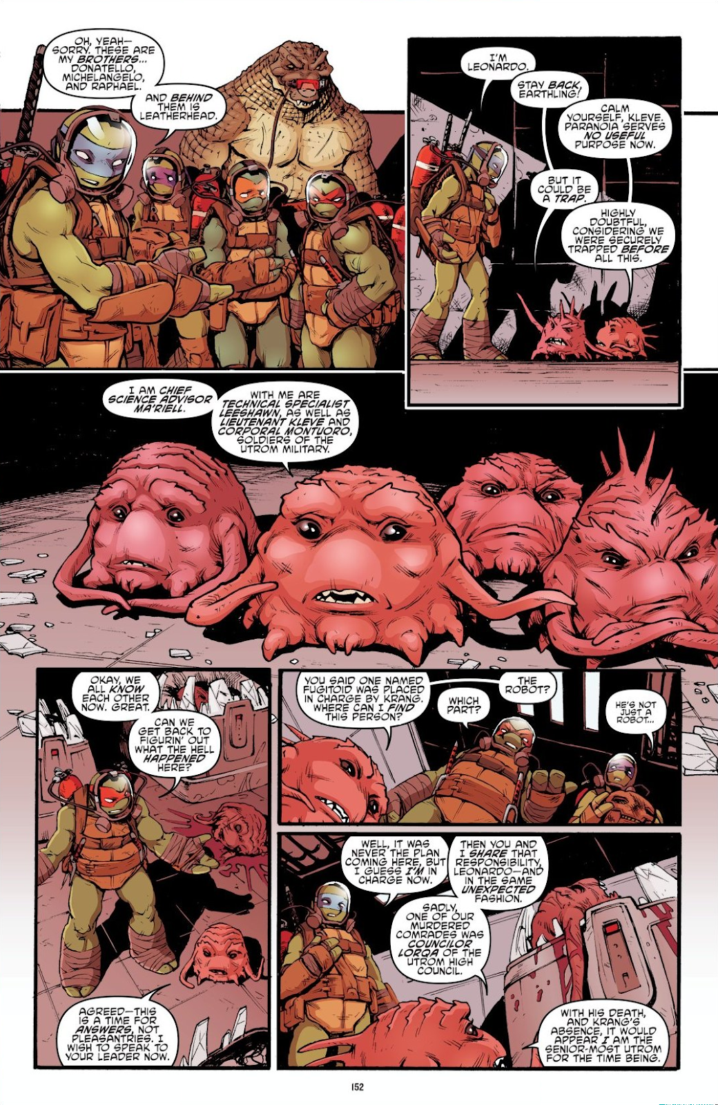 Read online Teenage Mutant Ninja Turtles: The IDW Collection comic -  Issue # TPB 7 (Part 2) - 47