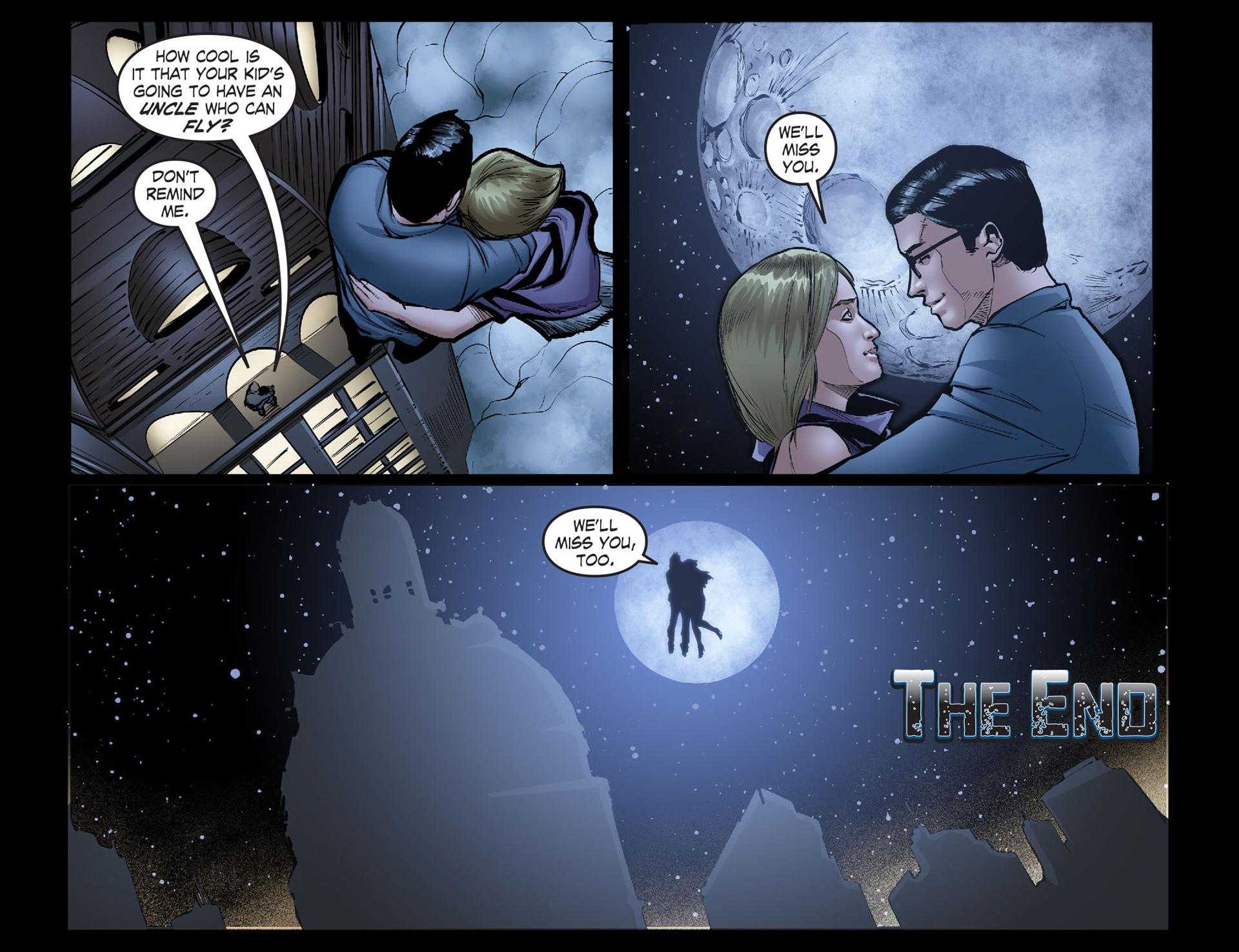 Read online Smallville: Season 11 comic -  Issue #40 - 22