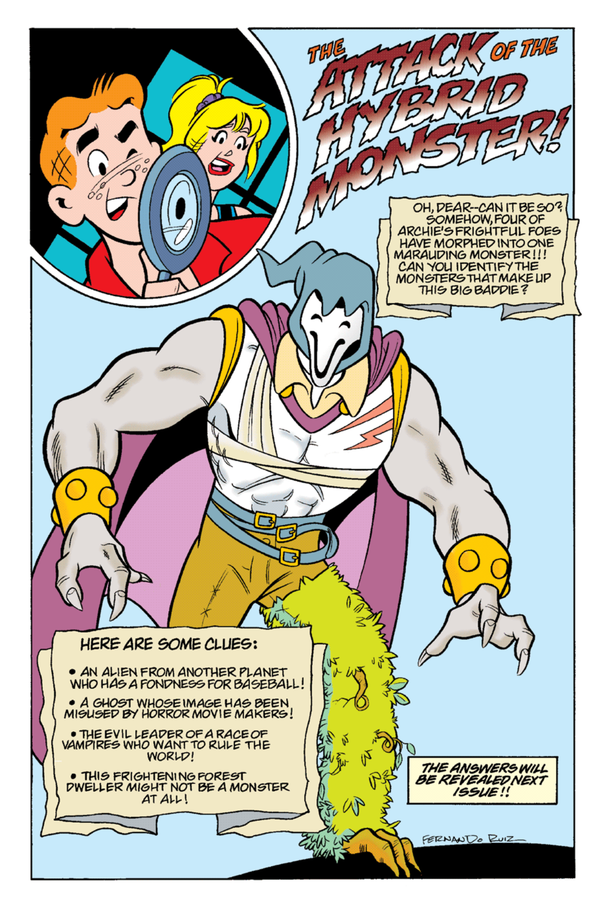 Read online Archie's Weird Mysteries comic -  Issue #19 - 19
