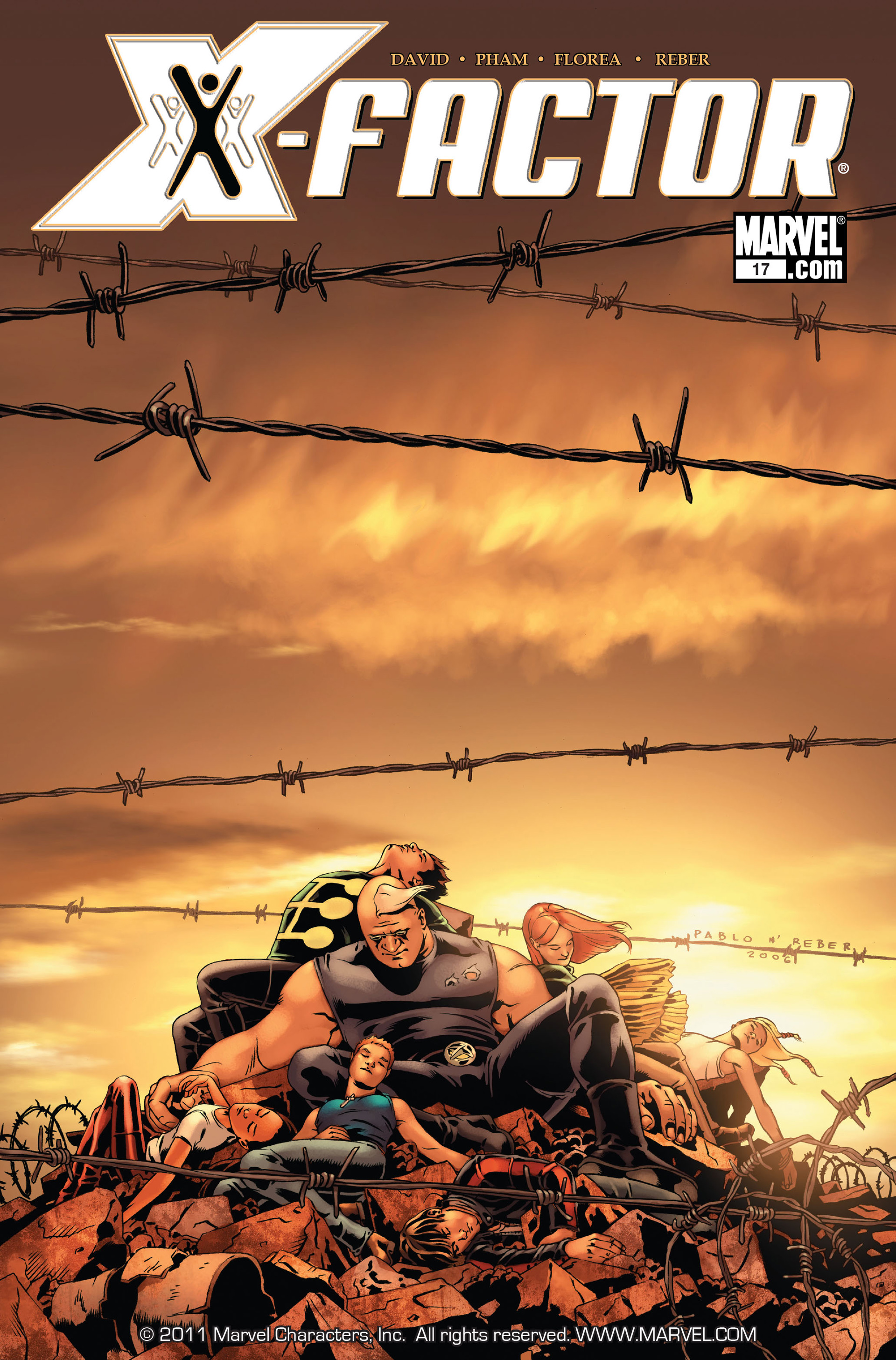 Read online X-Factor (2006) comic -  Issue #17 - 1