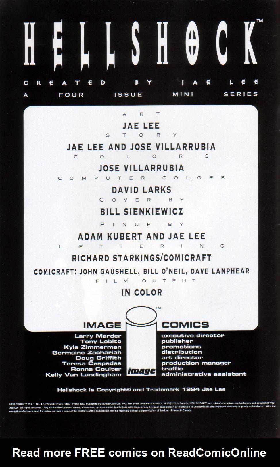 Read online Hellshock comic -  Issue #4 - 3