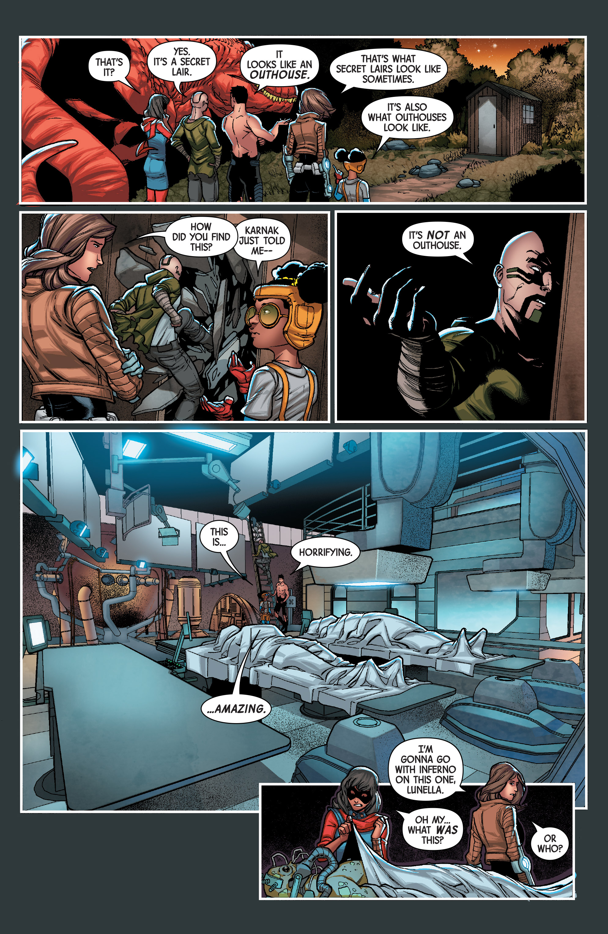 Read online Secret Warriors (2017) comic -  Issue #3 - 14