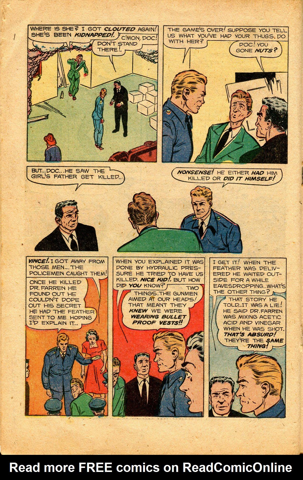 Read online Shadow Comics comic -  Issue #94 - 24