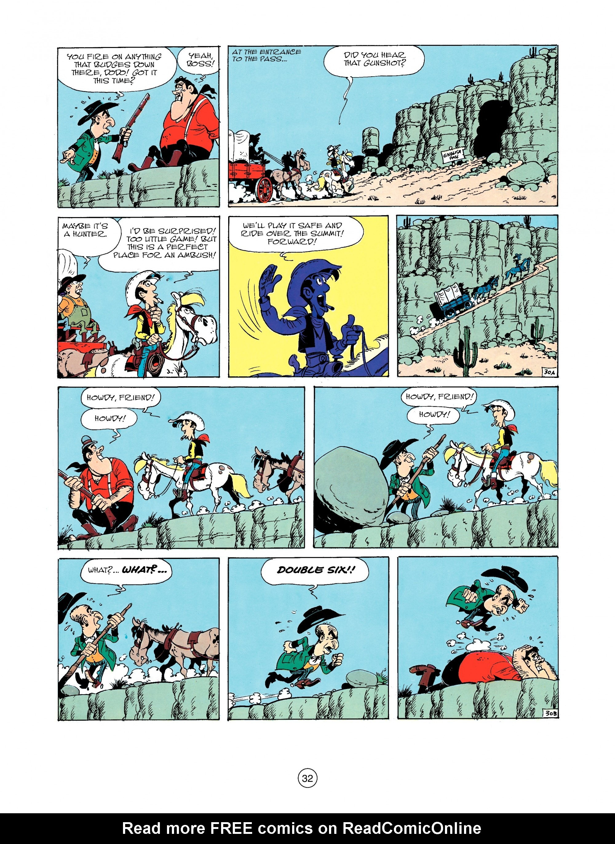 Read online A Lucky Luke Adventure comic -  Issue #33 - 32