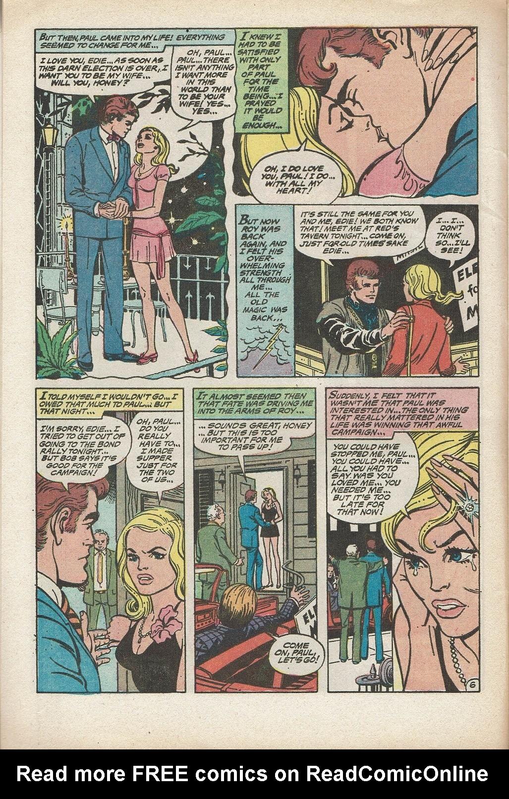 Read online Secret Hearts comic -  Issue #153 - 8