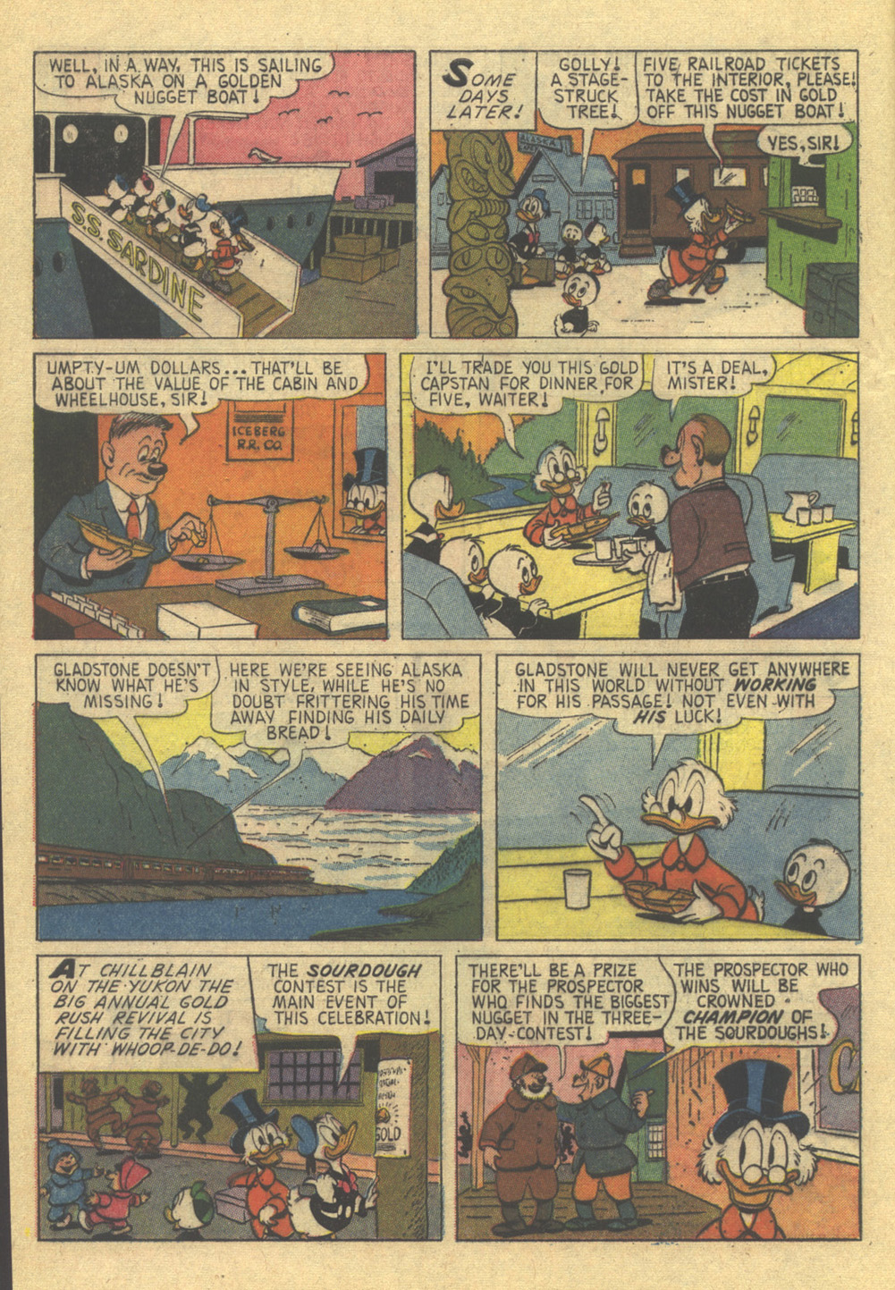 Read online Uncle Scrooge (1953) comic -  Issue #86 - 8