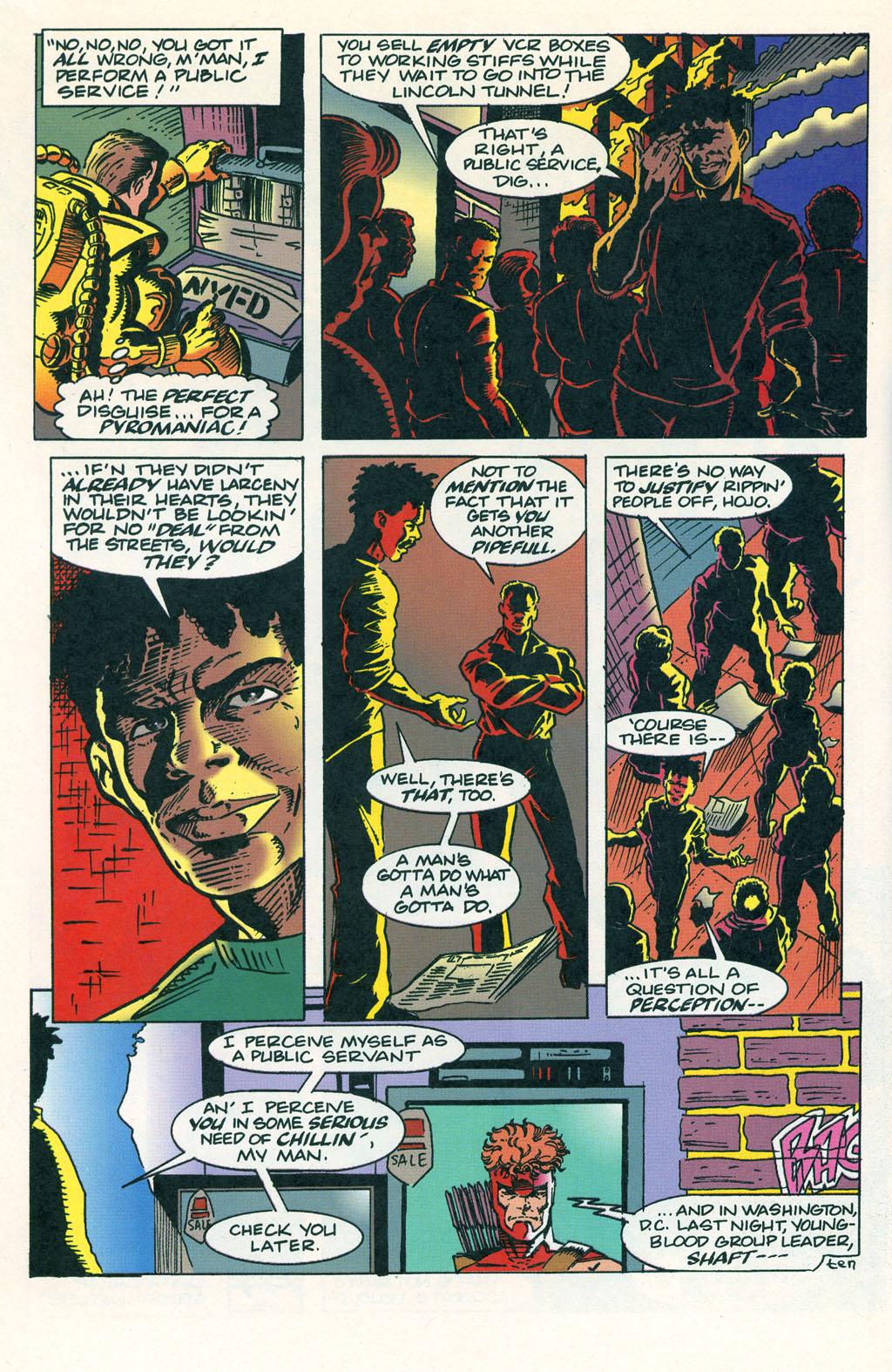 Read online ShadowHawk comic -  Issue #1 - 14