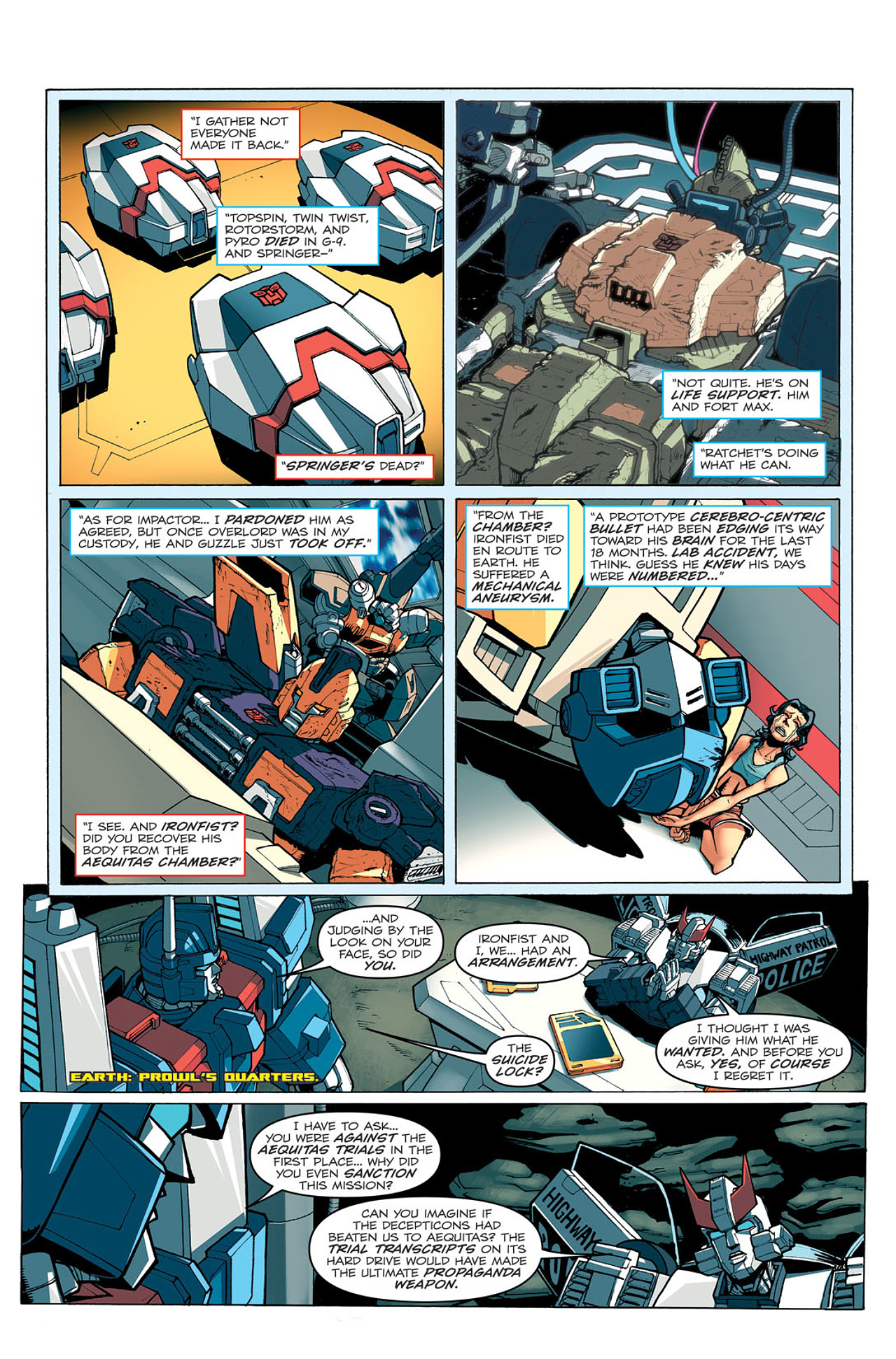 Read online Transformers: Last Stand of The Wreckers comic -  Issue #5 - 23