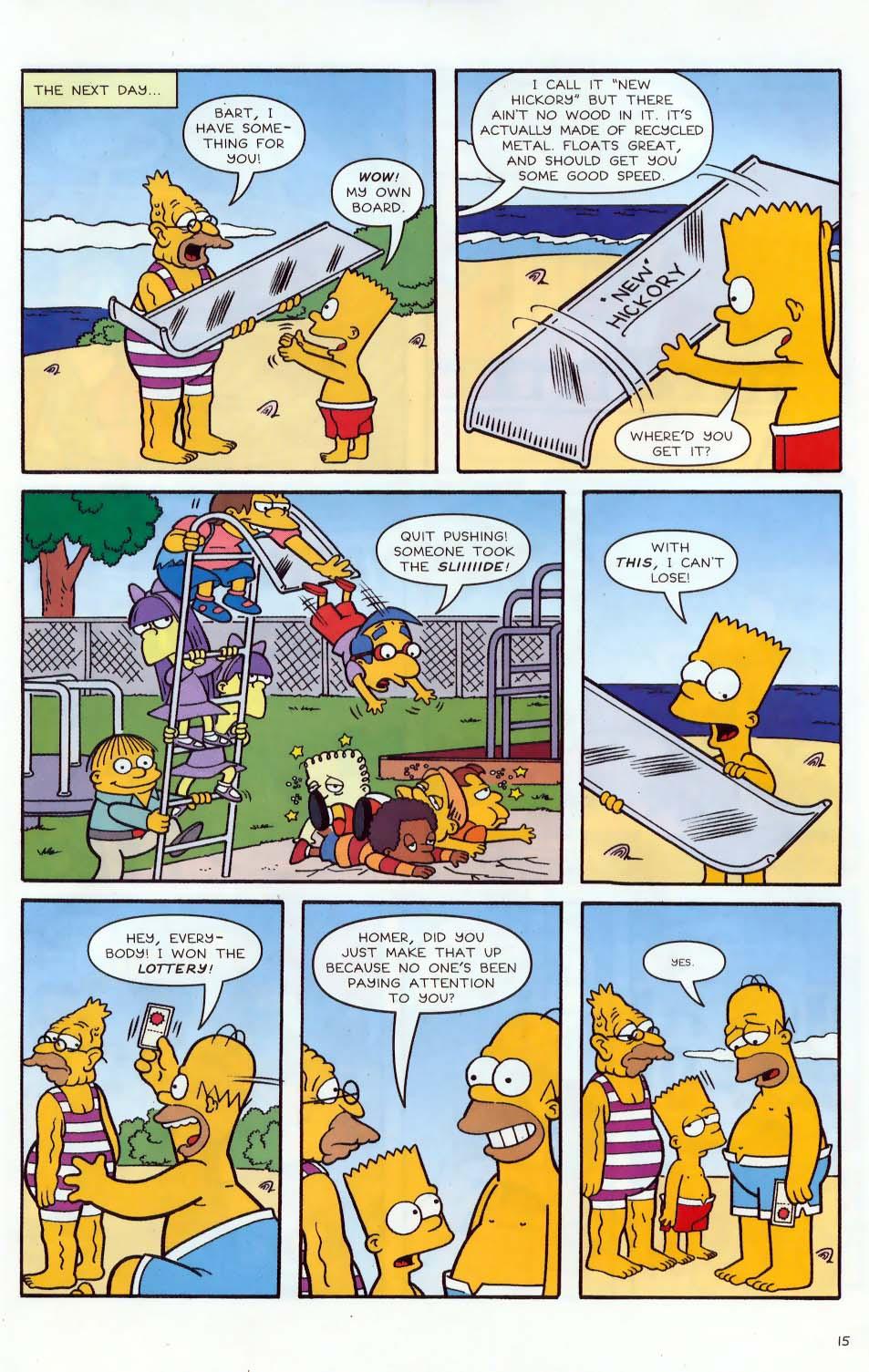 Read online Simpsons Comics comic -  Issue #86 - 16