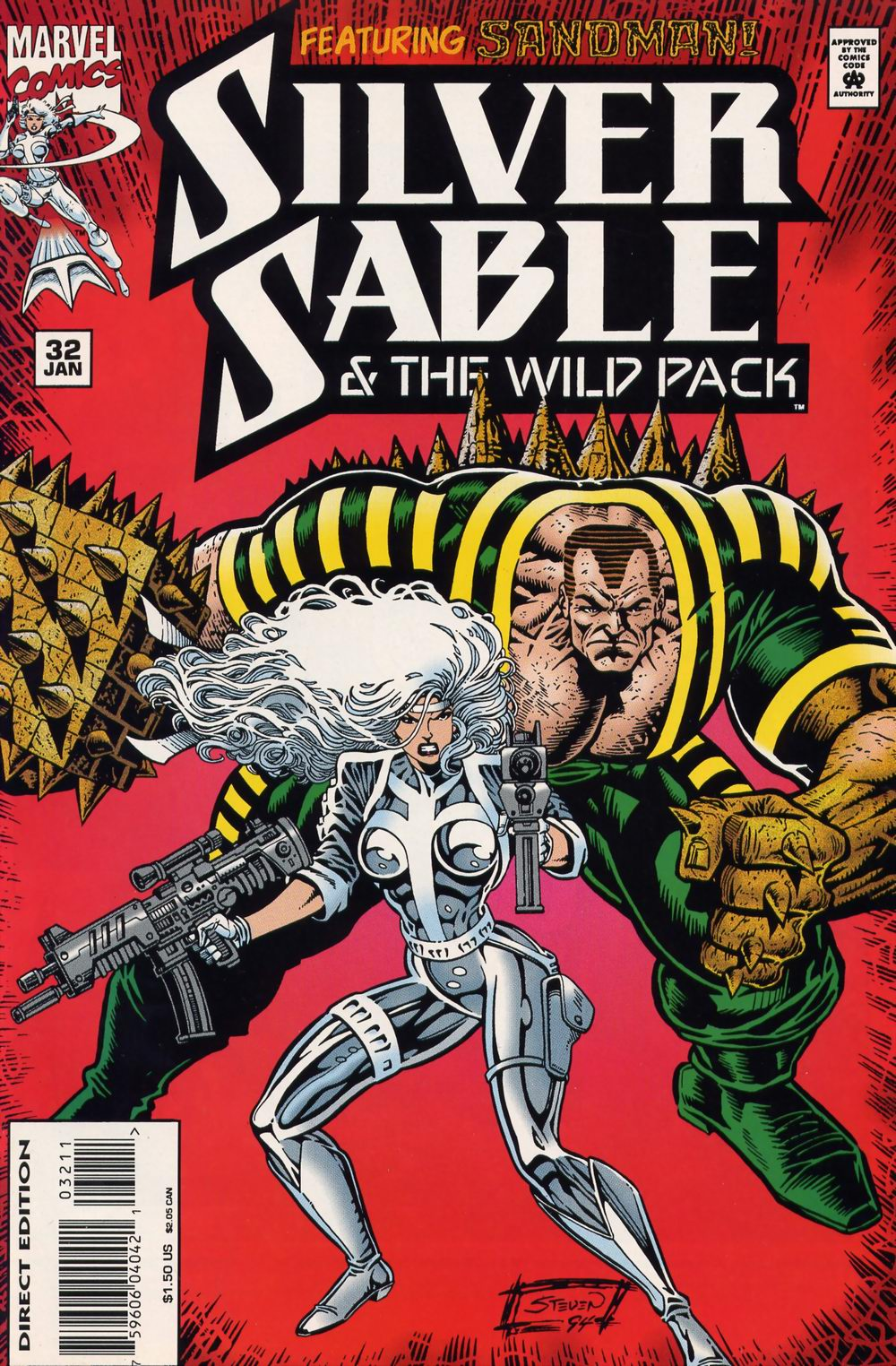 Read online Silver Sable and the Wild Pack comic -  Issue #32 - 1