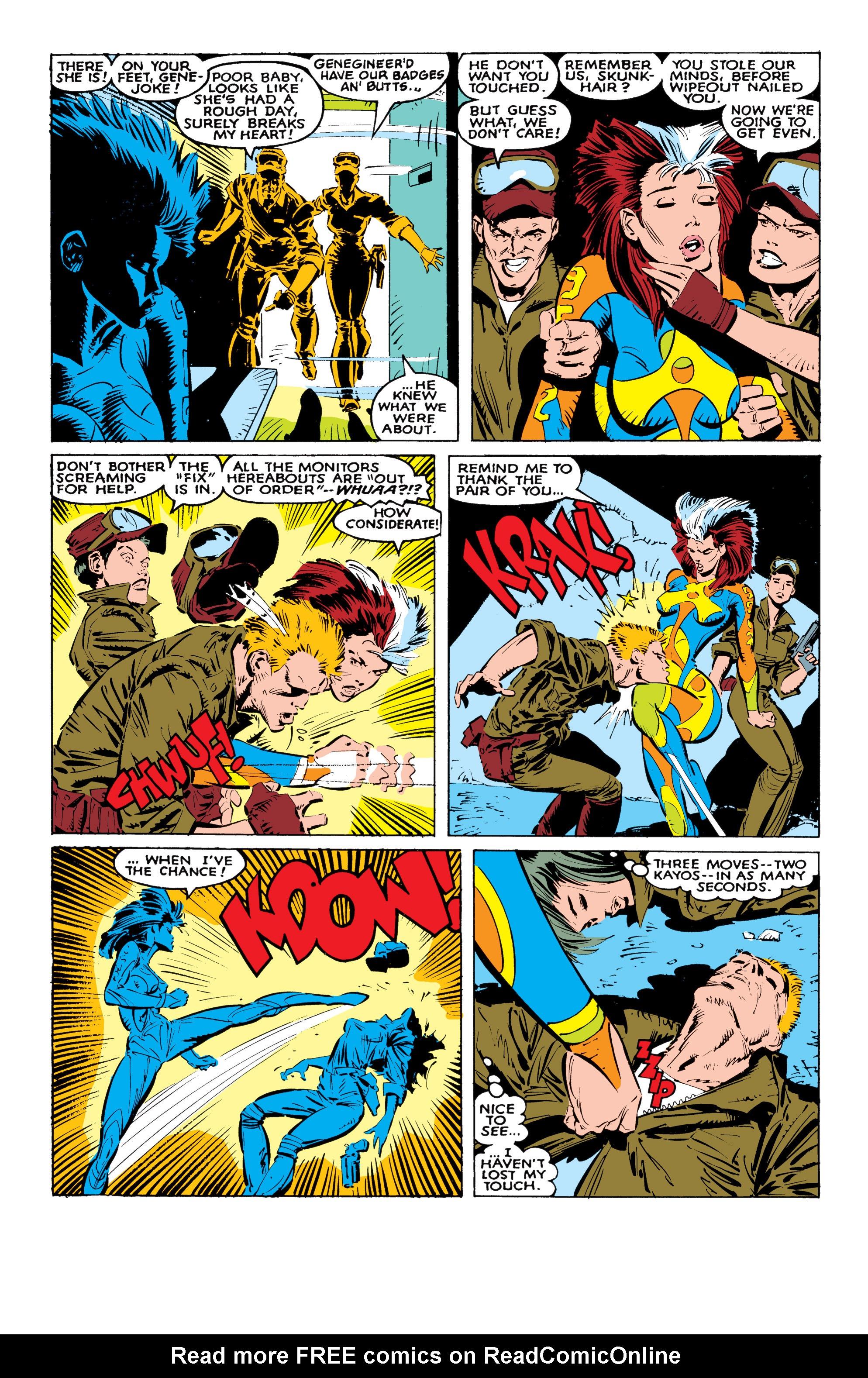 Read online Uncanny X-Men (1963) comic -  Issue #236 - 18