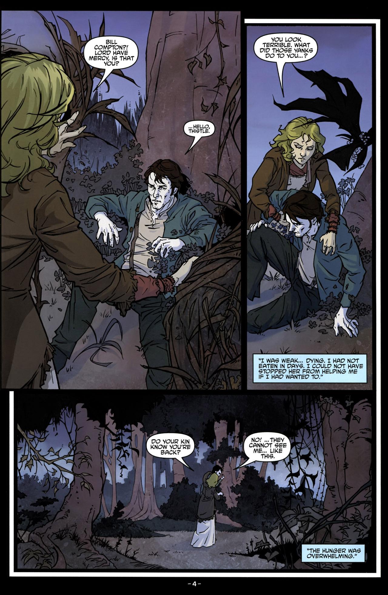 Read online True Blood (2010) comic -  Issue #6 - 7