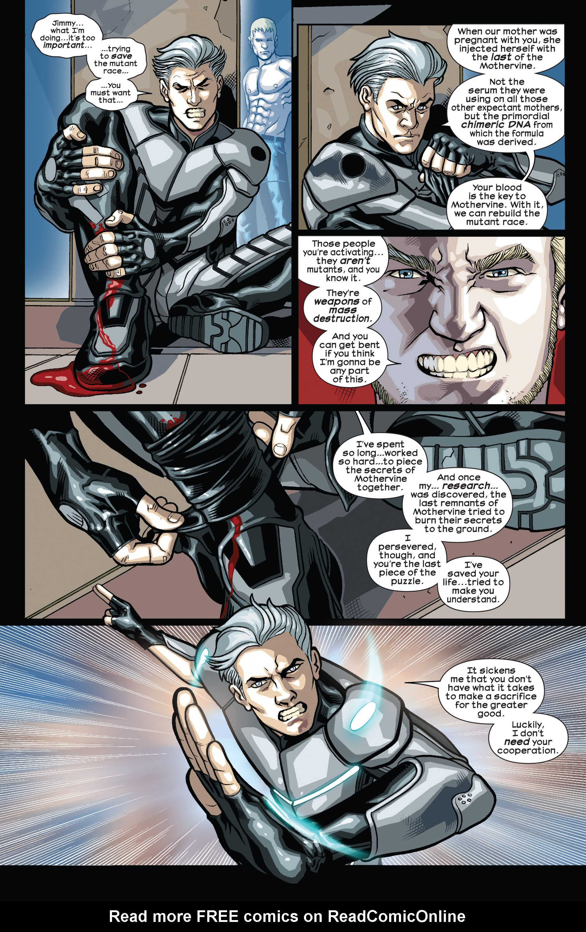 Read online Ultimate Comics Wolverine comic -  Issue #4 - 10