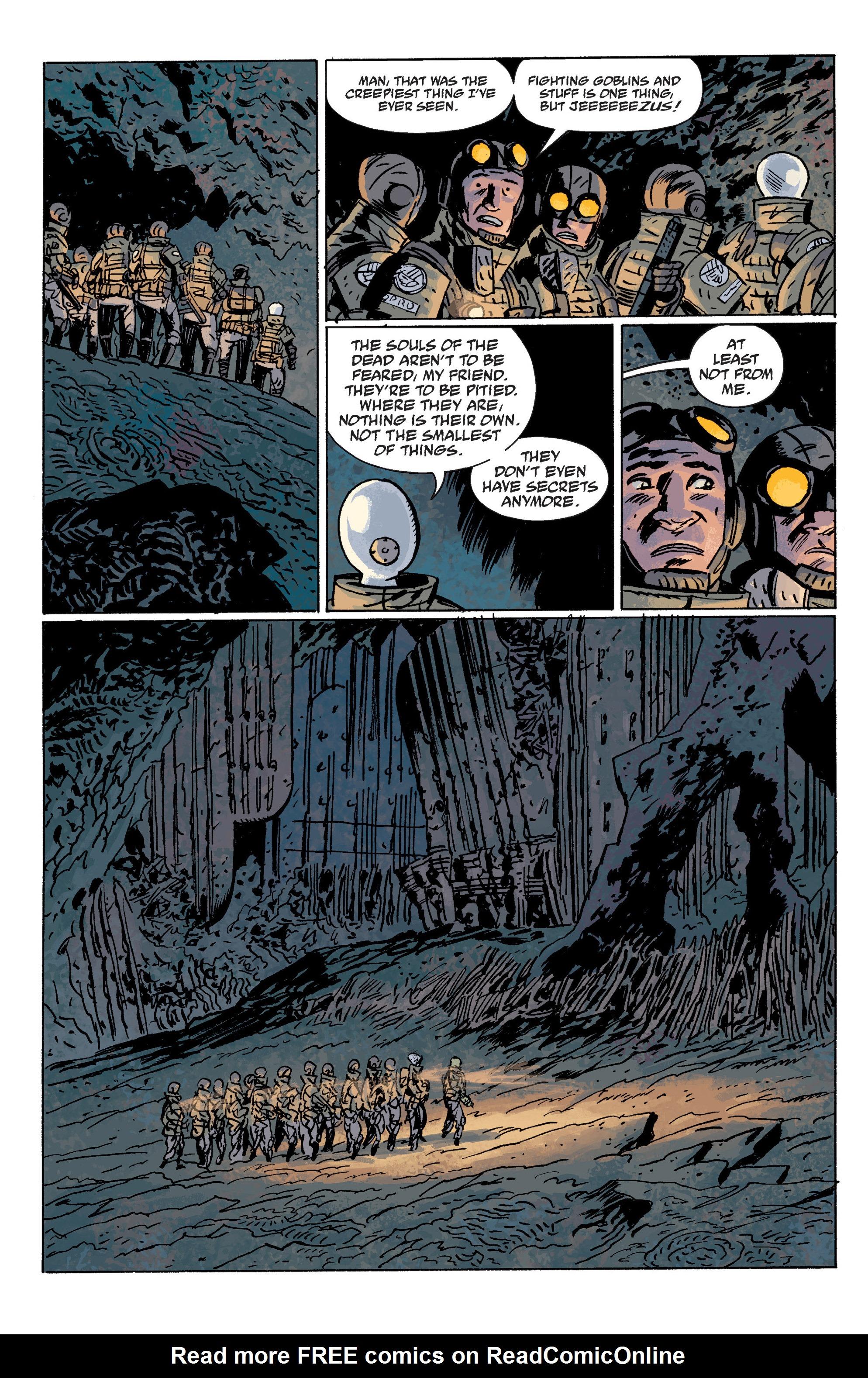 Read online B.P.R.D. (2003) comic -  Issue # TPB 10 - 105