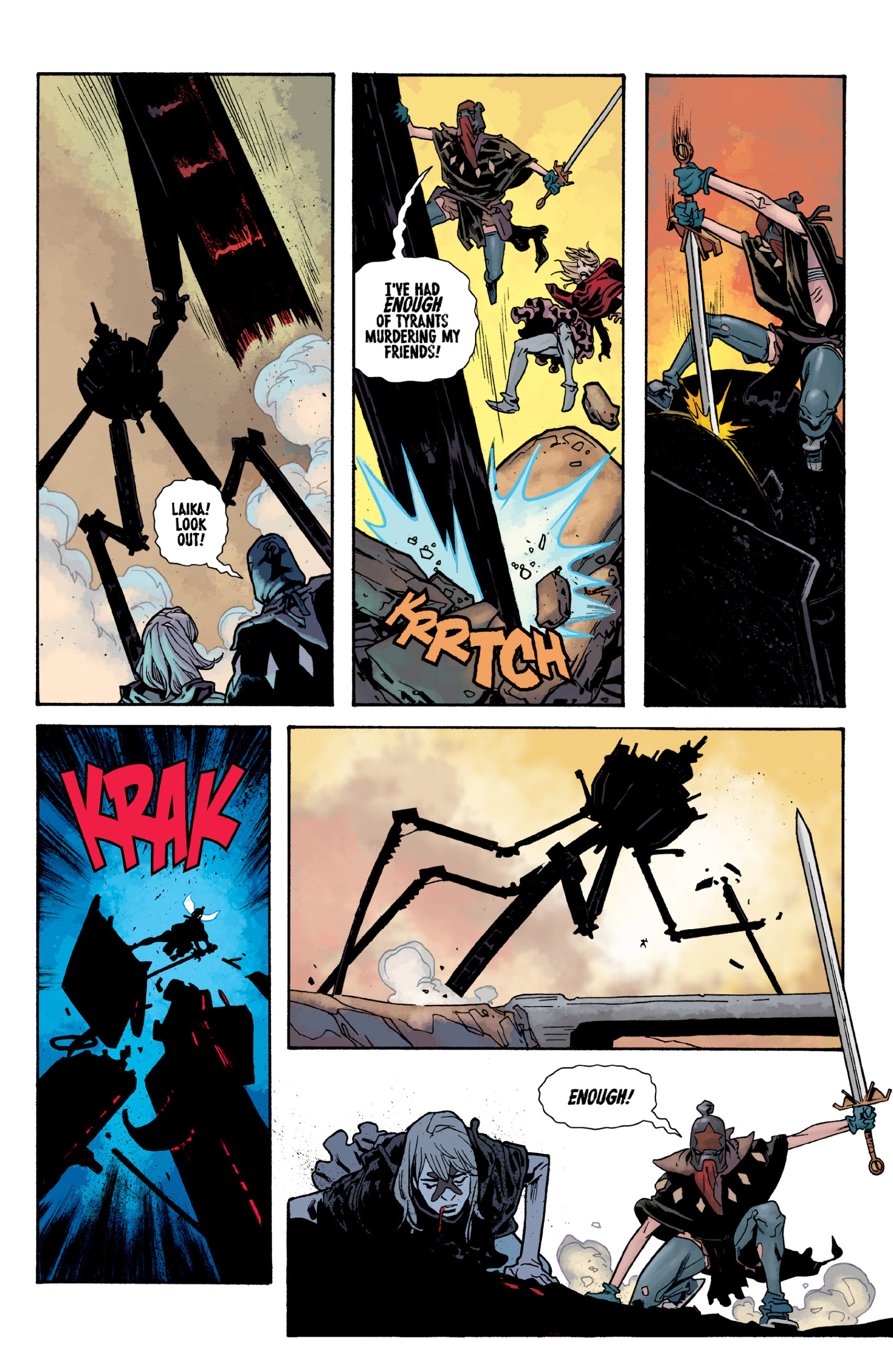 Read online Orchid comic -  Issue # TPB 3 - 87