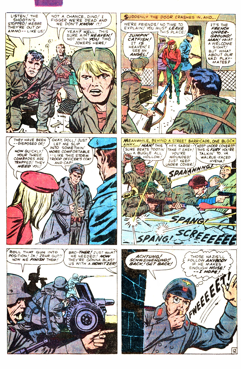 Read online Sgt. Fury comic -  Issue #167 - 21